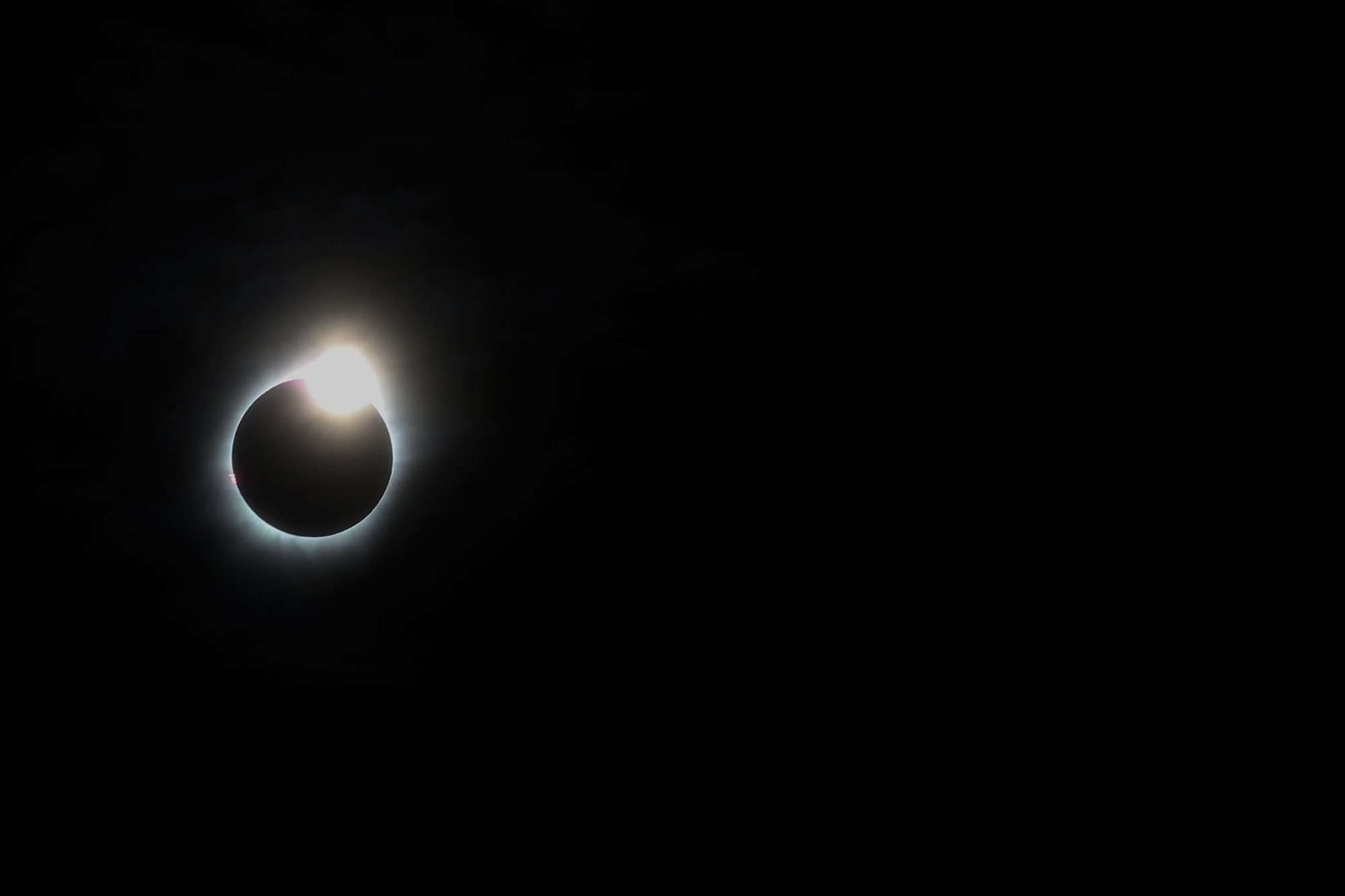 Total full Sollar Eclipse in Belitung, Indonesia
