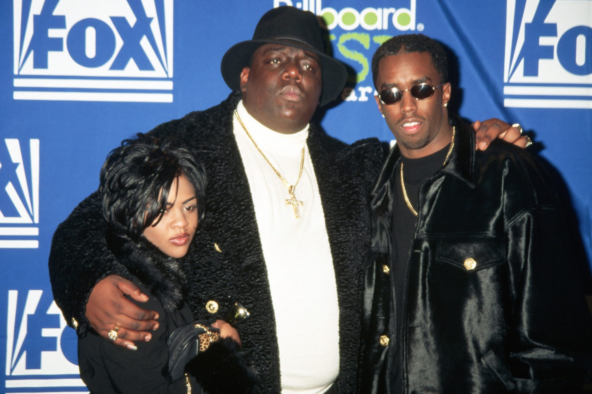 "Little Kim, The Notorious B.I.G., and Sean ""Puffy"" Combs"
