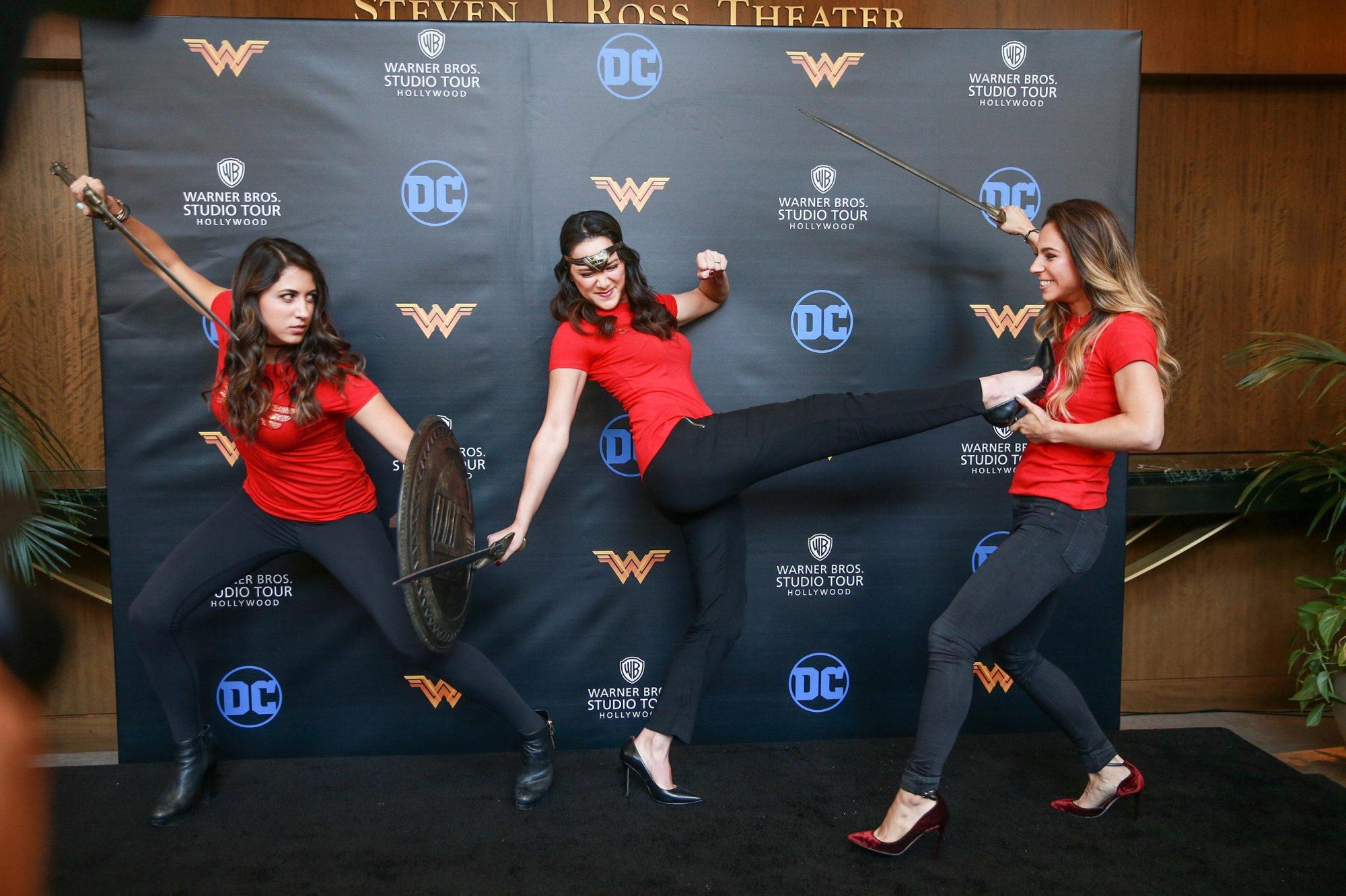 Warner Bros. Studio Tour Hollywood Adds Wonder Woman Exhibit to DC Universe: The Exhibit