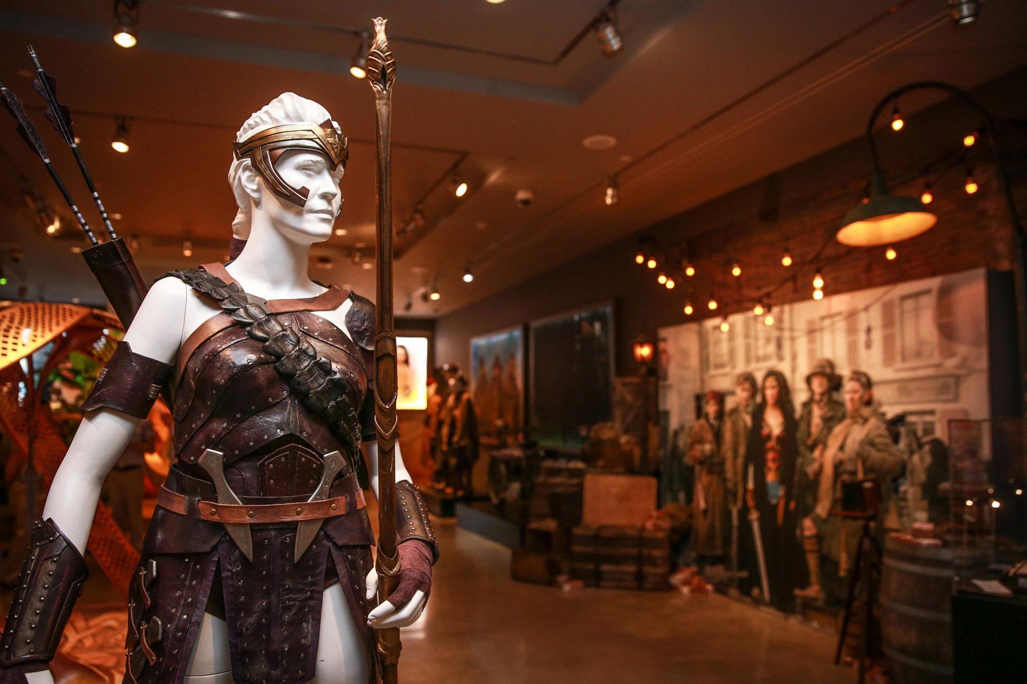 Warner Bros. Studio Tour Hollywood adds a Wonder Woman Exhibit to DC Universe: The Exhibit