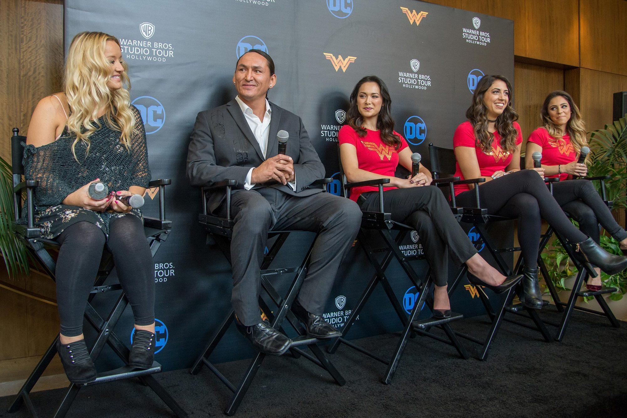 "Warner Bros. Studio Tour Celebrates Opening Of ""Wonder Woman"" Behind-The-Scenes Experience"