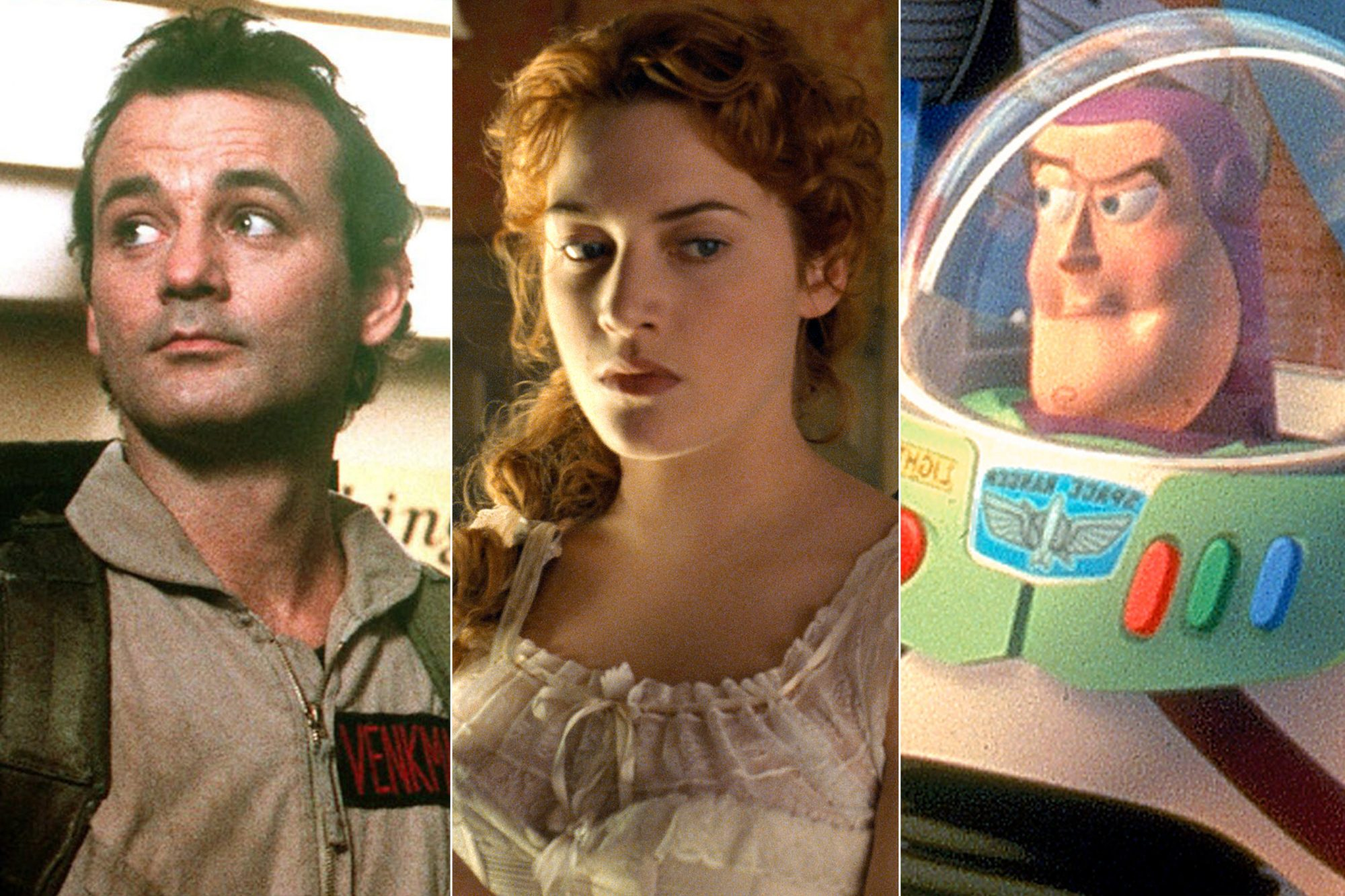 Ghostbusters/ Titanic / Toy Story