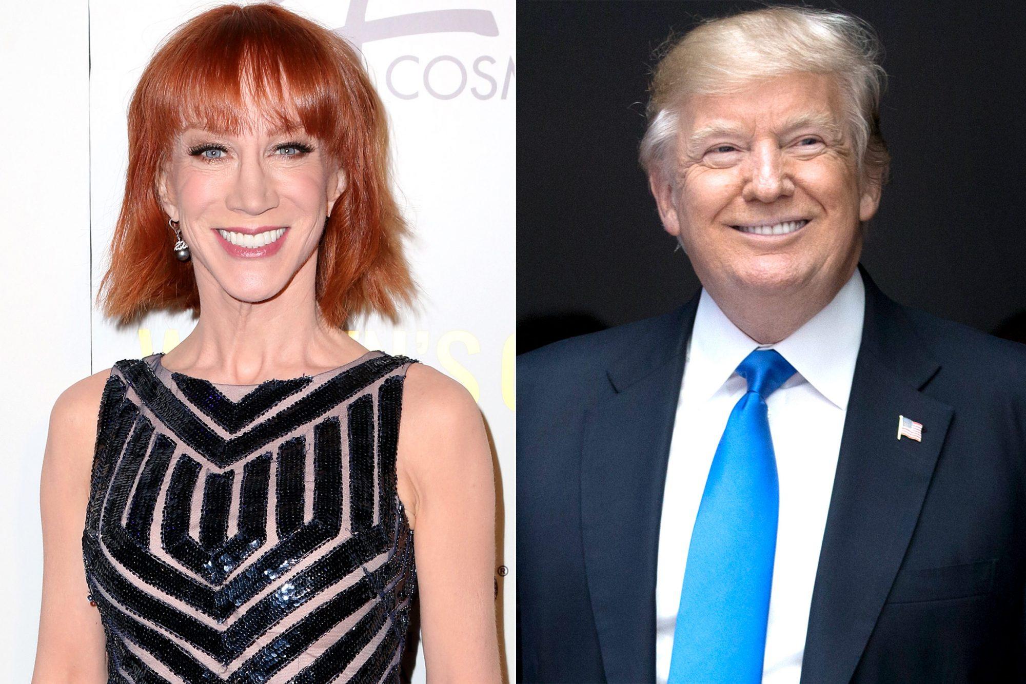 Kathy Griffin/ Donald Trump