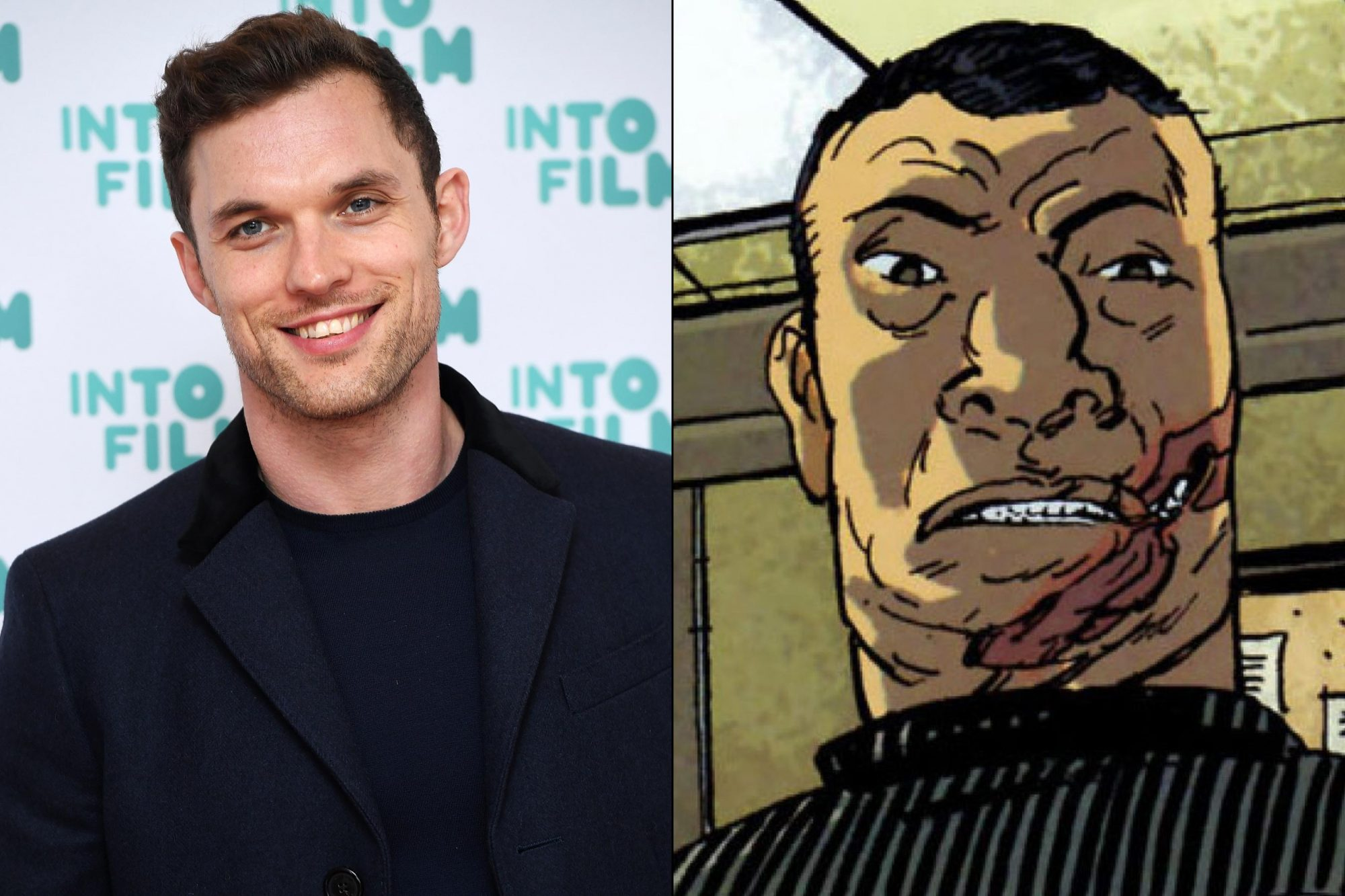 Ed Skrein as Ben Daimio in Hellboy