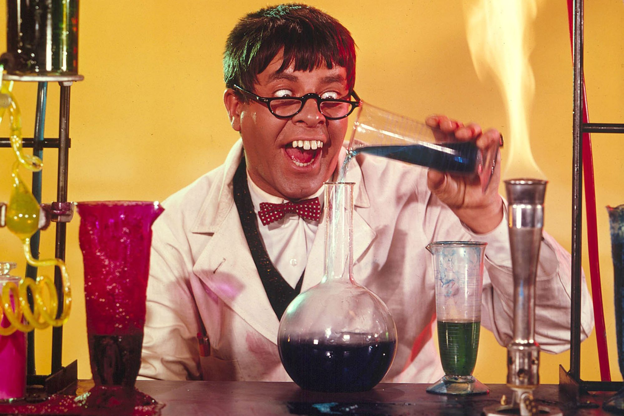 THE NUTTY PROFESSOR (US1963) JERRY LEWIS MAD SCIENTIST