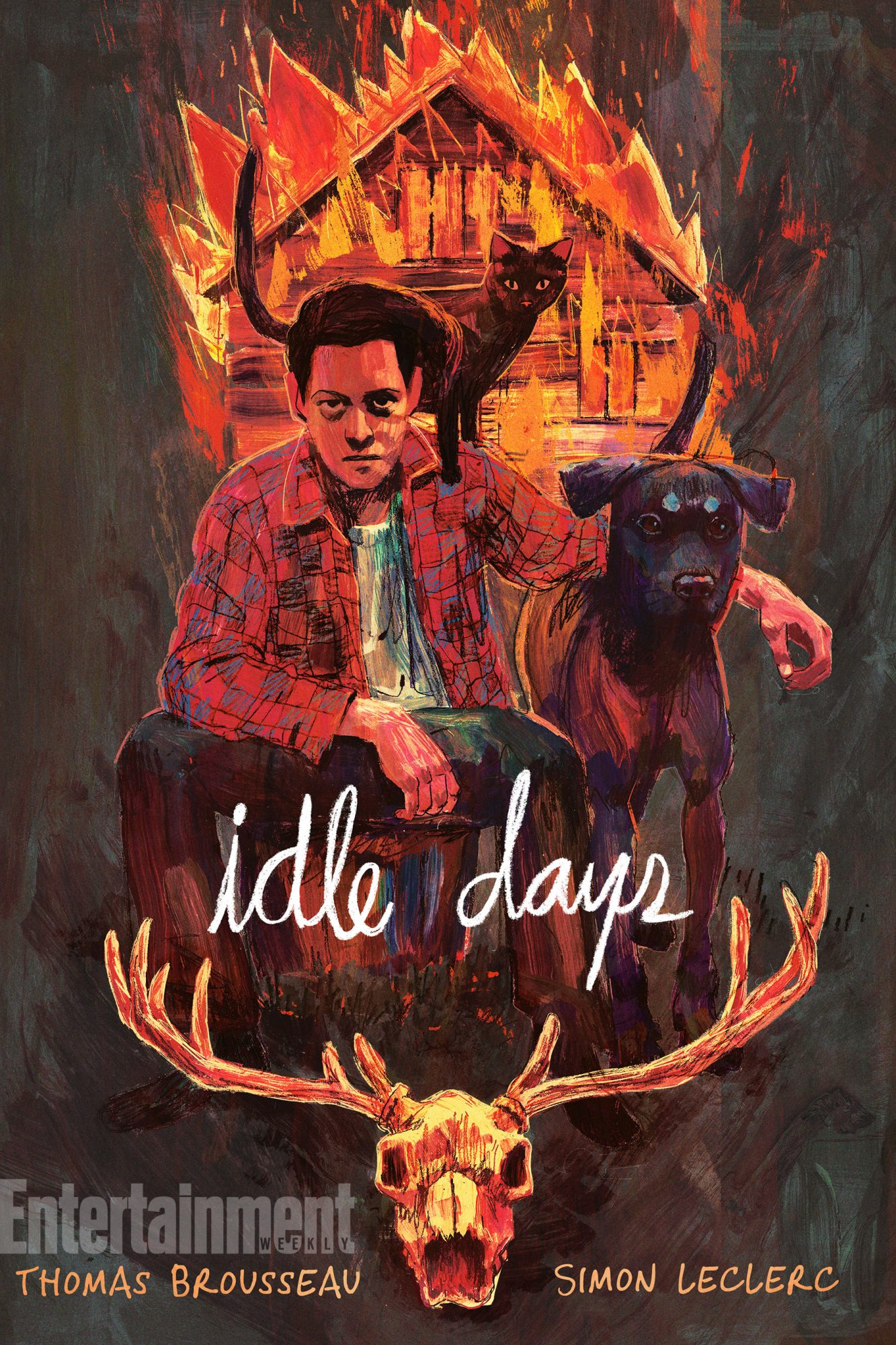 Aug. 14, 2018                       Idle Days by Thomas D. Brousseau and Simon LeClerc