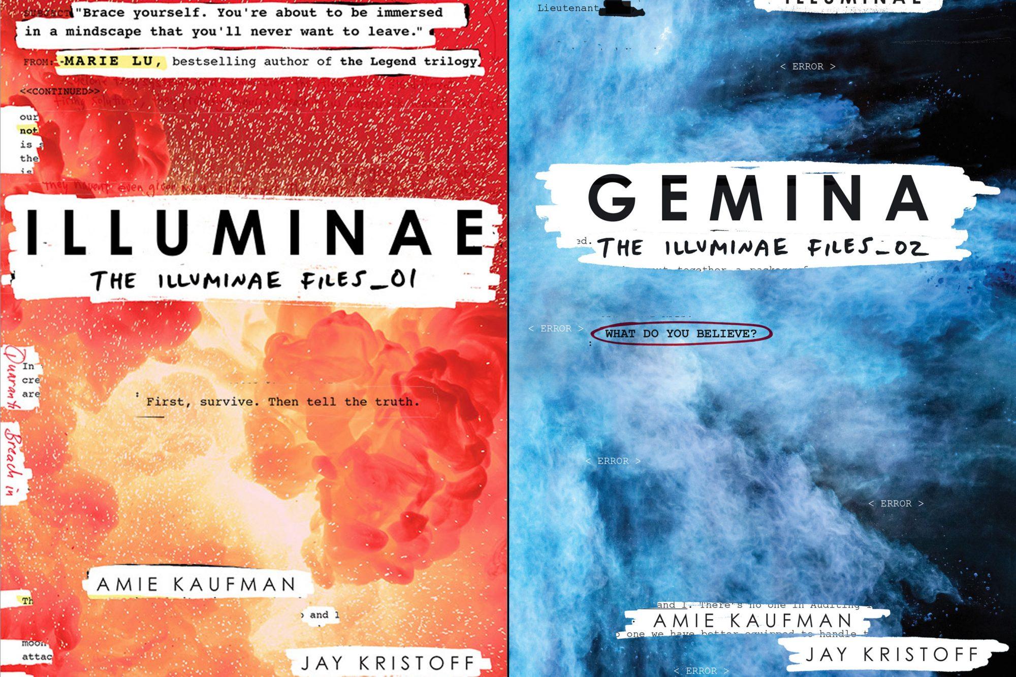 The Illuminae Files 1 & 2 split
