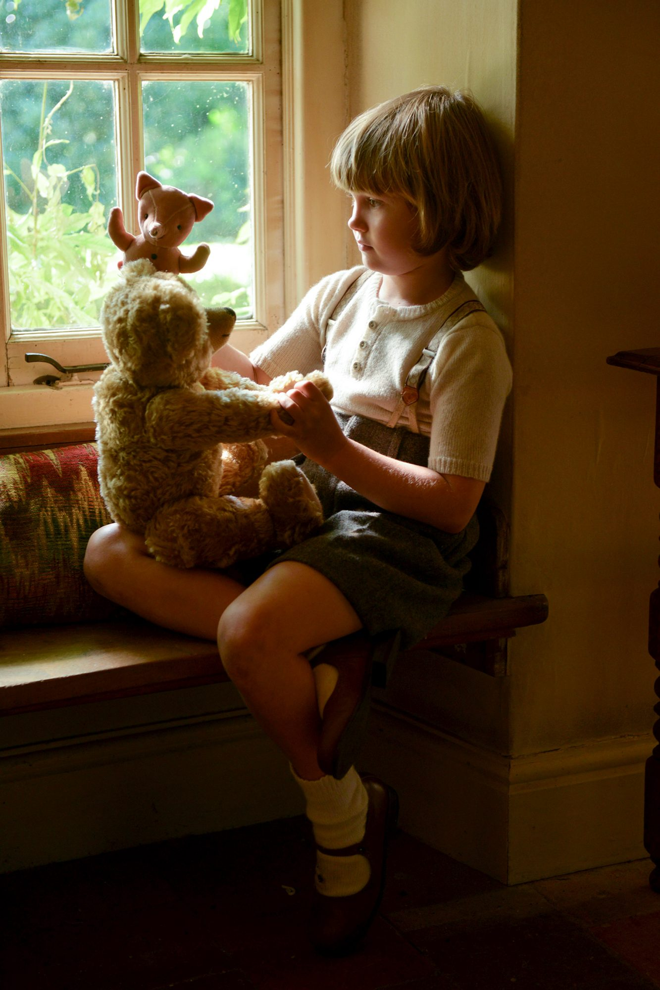 Will Tilston as 'Christopher Robin Milne' in the film UNTITLED A