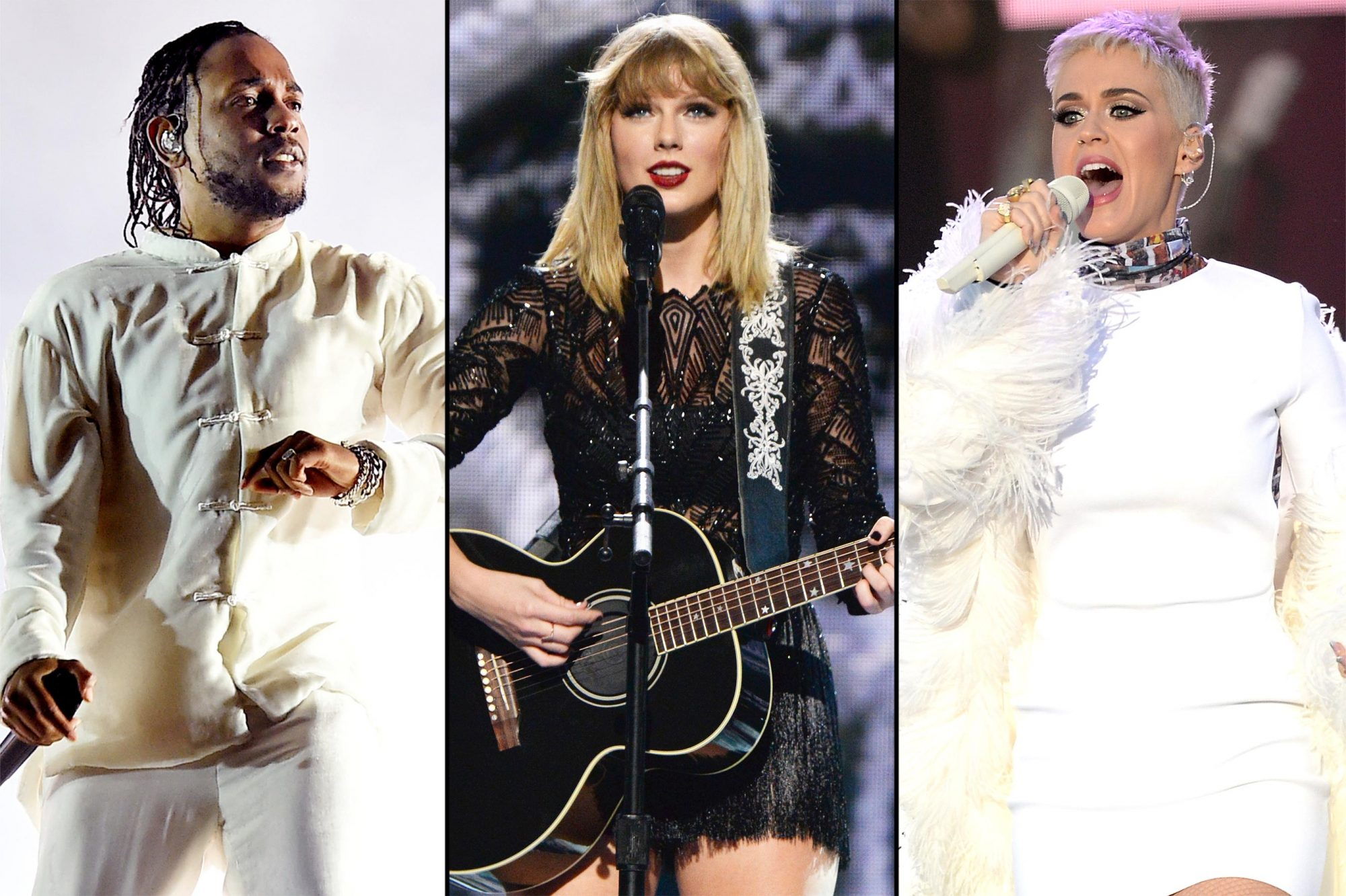 Kendrick-Taylor-Swift-Katy-Perry