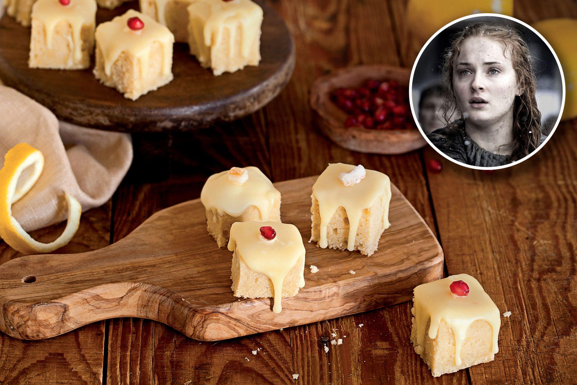 Lemon Cakes/ Sansa Stark