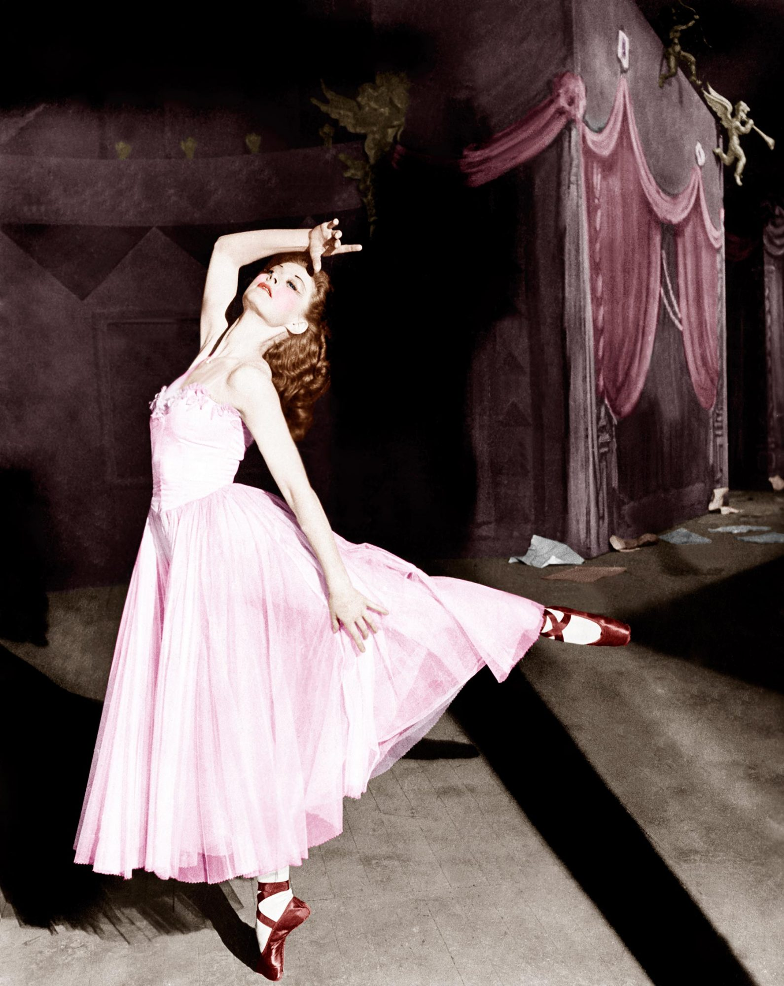 THE RED SHOES, Moira Shearer, 1948.