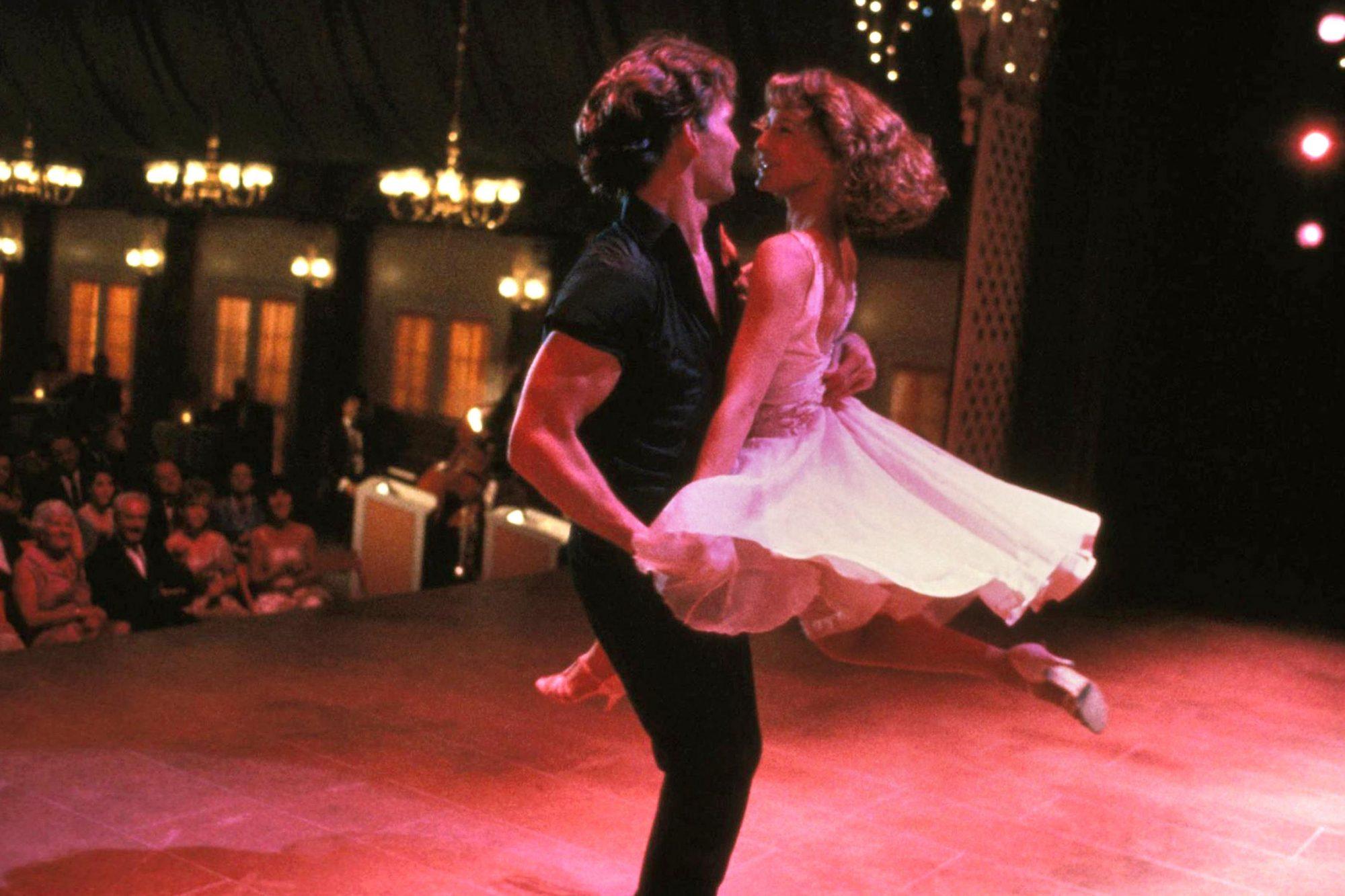 DIRTY DANCING, Patrick Swayze, Jennifer Grey, 1987, ©Vestron Pictures/courtesy Everett Collection