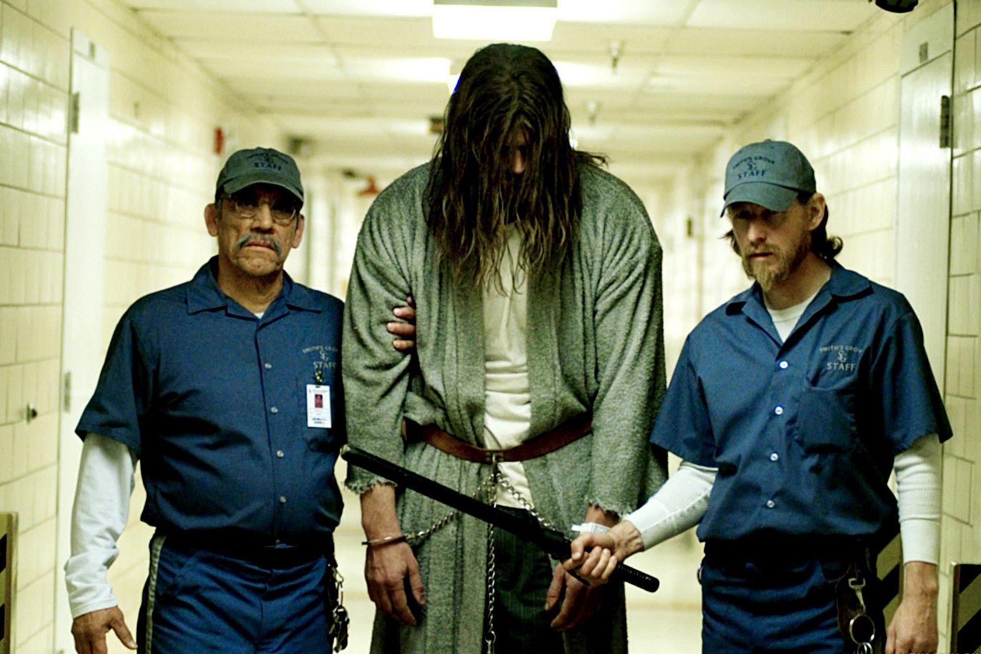 HALLOWEEN, Danny Trejo (left), Tyler Mane (center), 2007. ©Dimension Films/Courtesy Everett Collecti