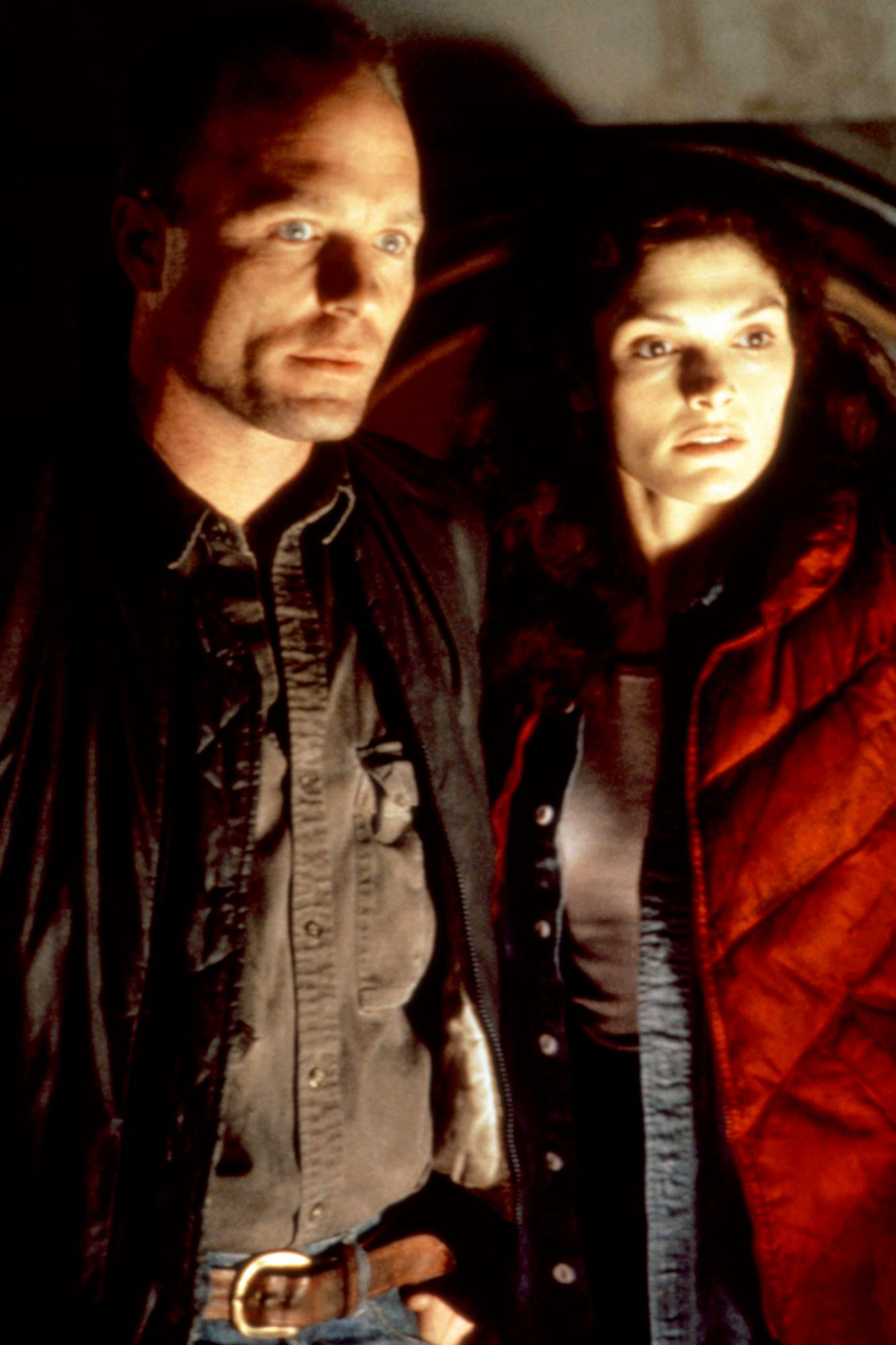THE ABYSS, Ed Harris, Mary Elizabeth Mastrantonio, 1989, TM and Copyright (c)20th Century Fox Film C
