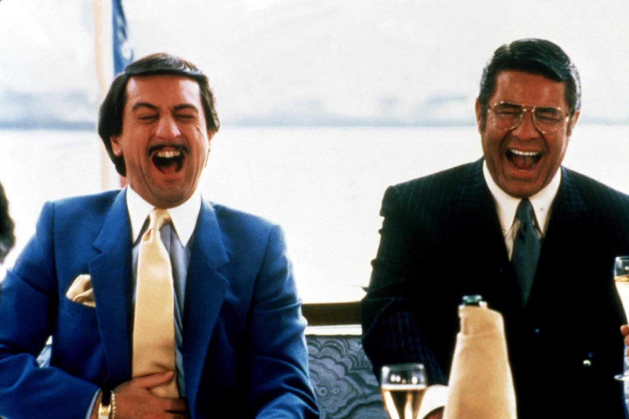 THE KING OF COMEDY, Robert De Niro, Jerry Lewis, 1983. TM and ©Copyright Twentieth Century Fox Film