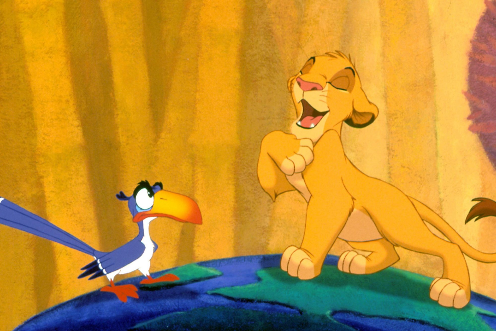 THE LION KING, Zazu, Simba, 1994. ©Buena Vista Pictures/Courtesy Everett Collection
