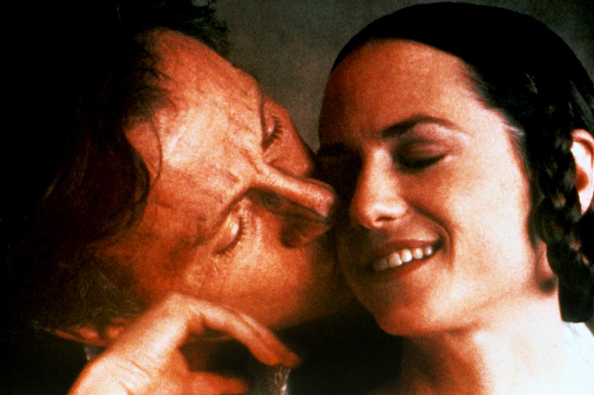 THE PIANO, Harvey Keitel, Holly Hunter, 1993, © Miramax/courtesy Everett Collection