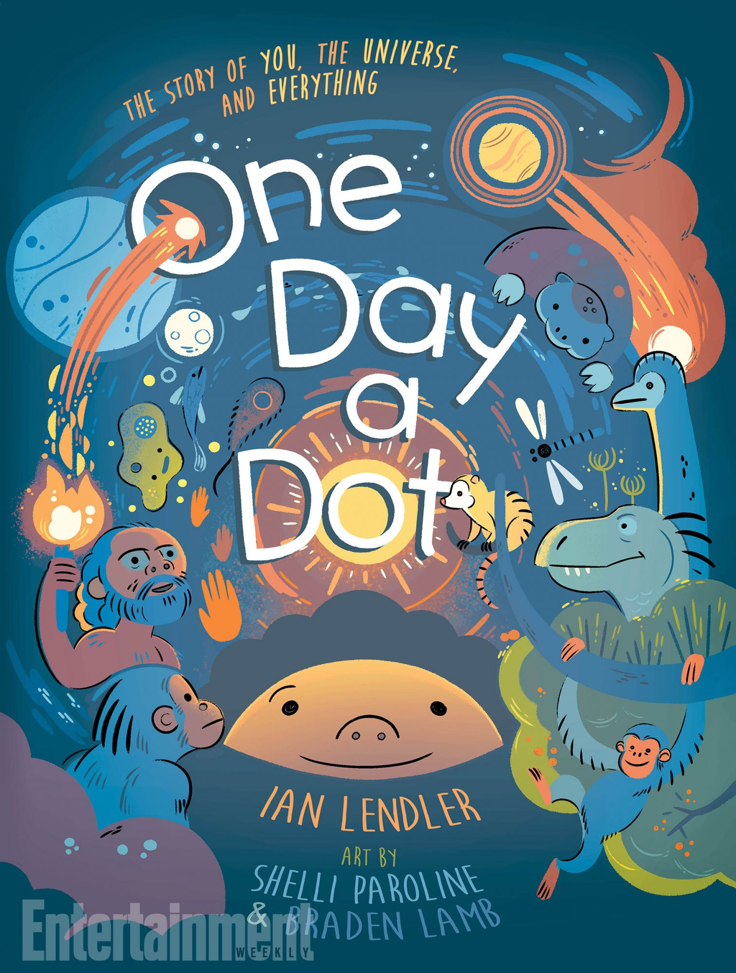 May 22, 2018                       One Day a Dot by Ian Lendler, Shelli Paroline, and Braden Lamb