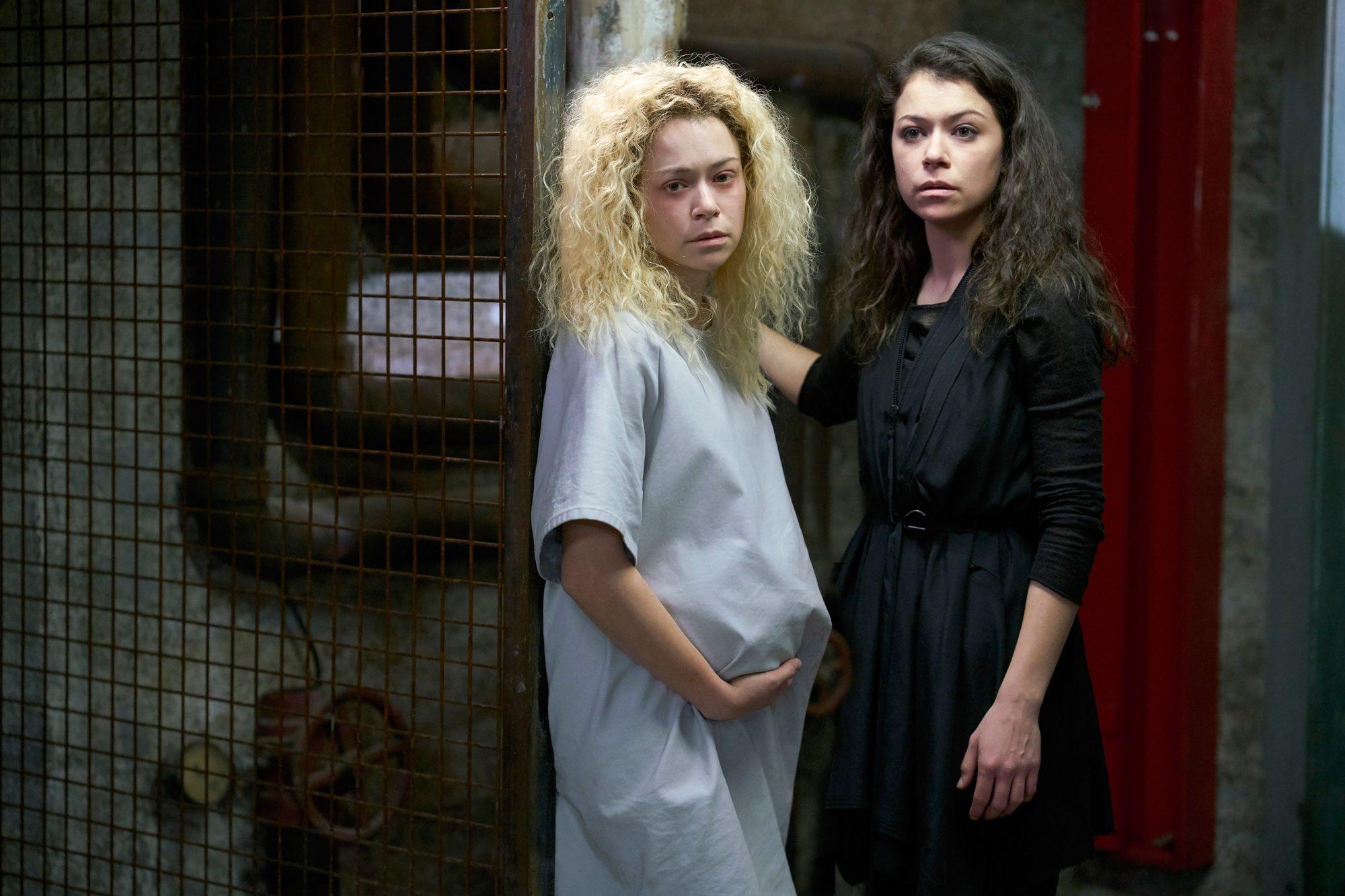 Helena (Tatiana Maslany) and Sarah (Tatiana Maslany)