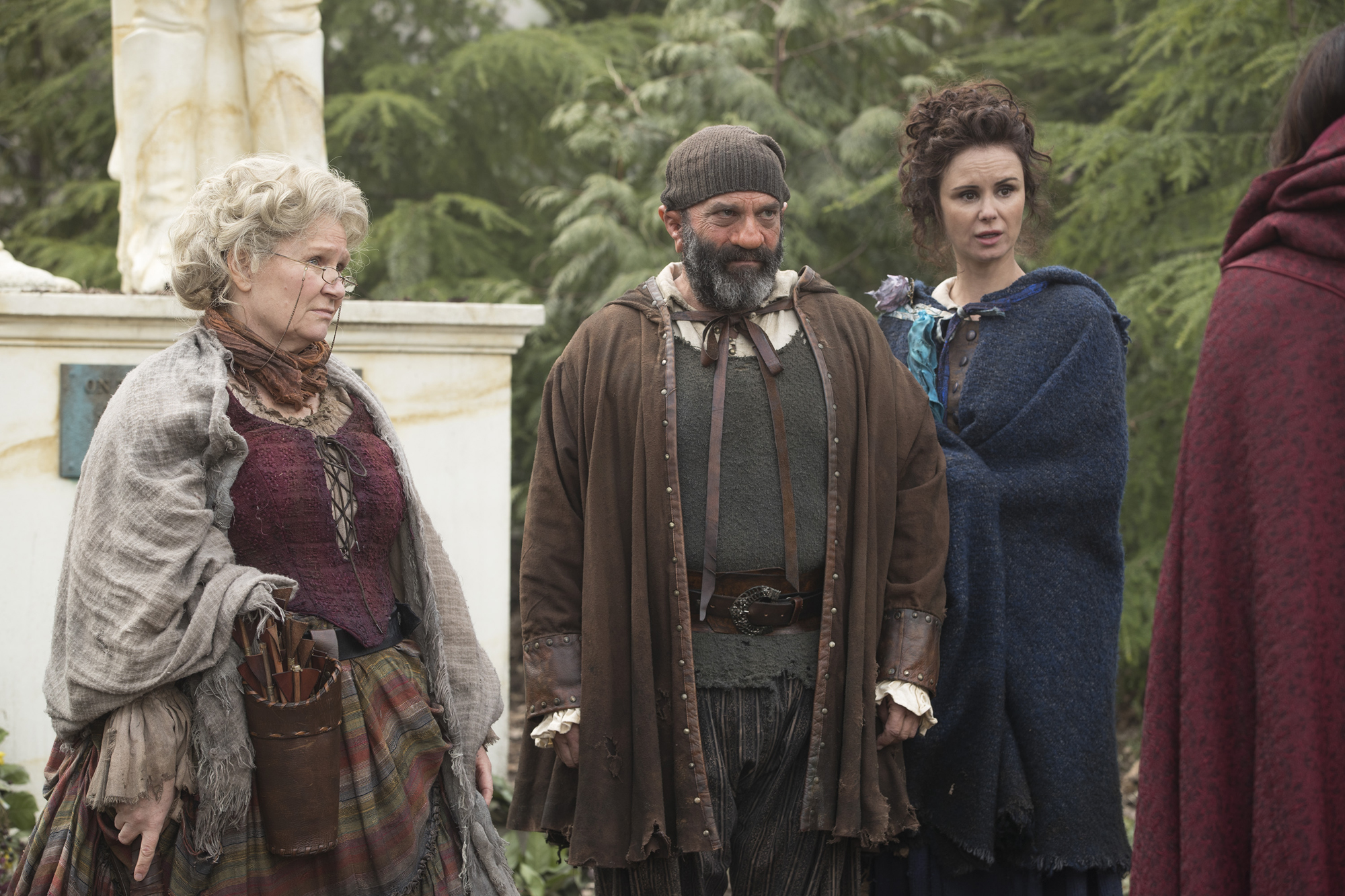 BEVERLEY ELLIOTT, LEE ARENBERG, KEEGAN CONNOR TRACY