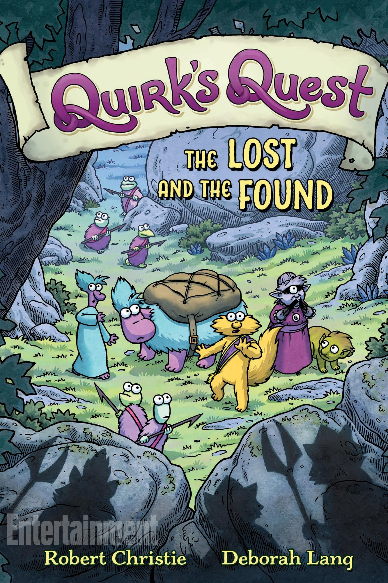 June 26, 2018                       Quirk's Quest: The Lost and the Found by Robert Christie and Deborah Lang
