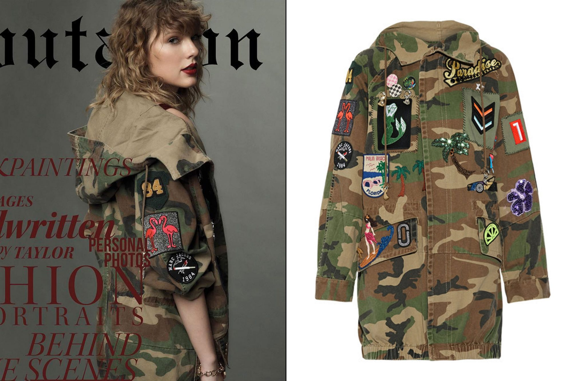 Reputation, Volume II: Army jacket