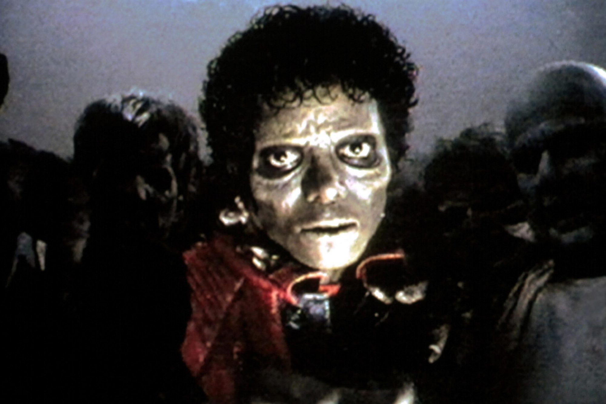 Michael Jackson in the THRILLER music video, 1983