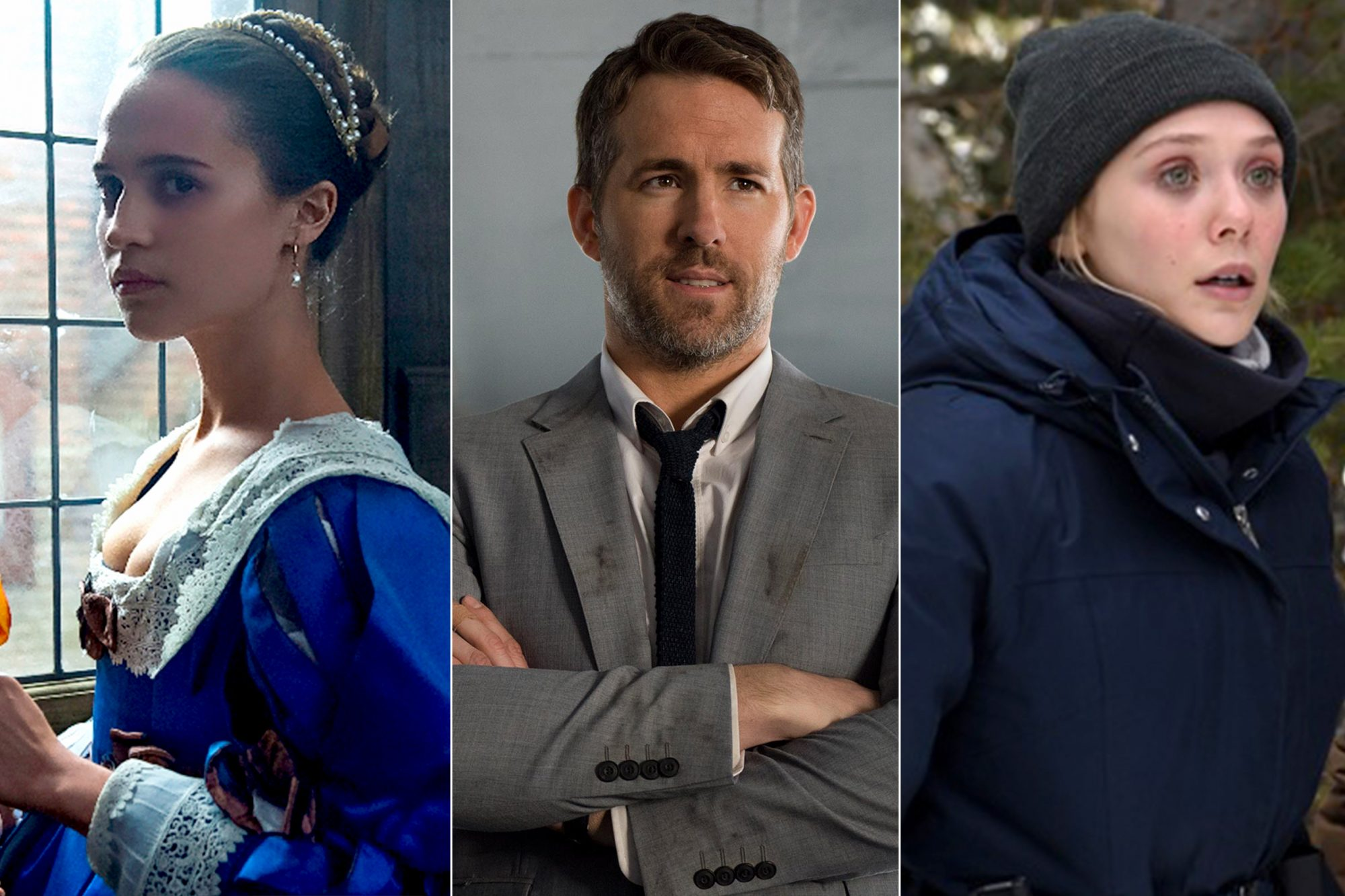 Tulip Fever/ The Hitman's Bodyguard/ Wind River