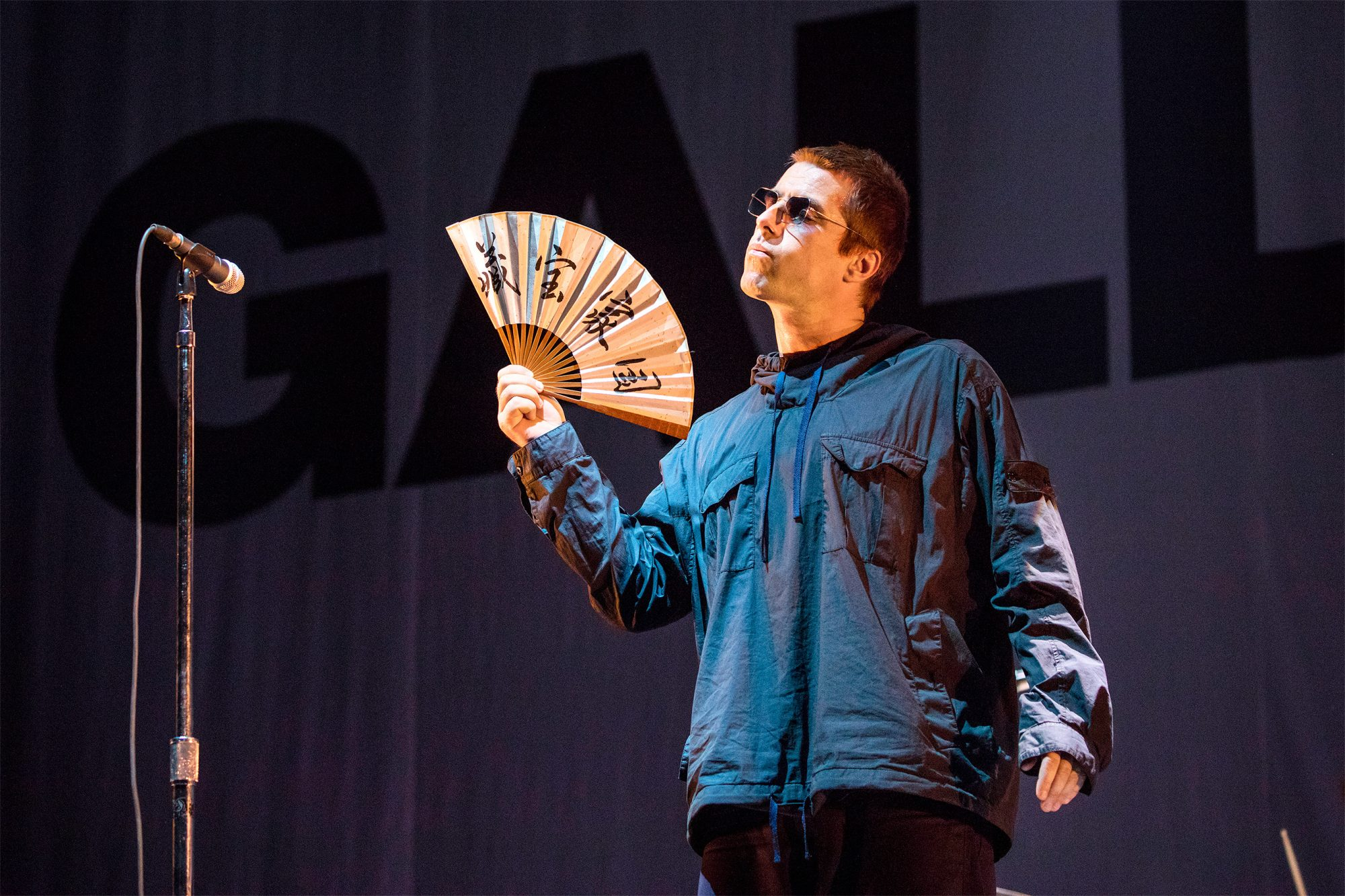 Liam Gallagher Holds Concert In Beijing