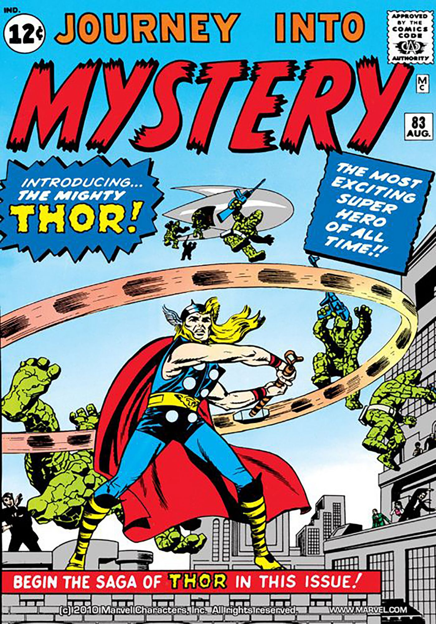 Original Thor — Journey Into Mystery #83 (1962)