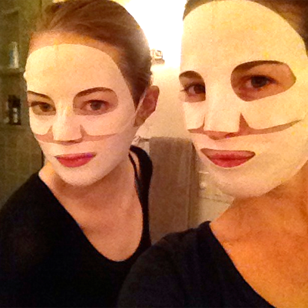 Emma Stone and Martha MacIsaac