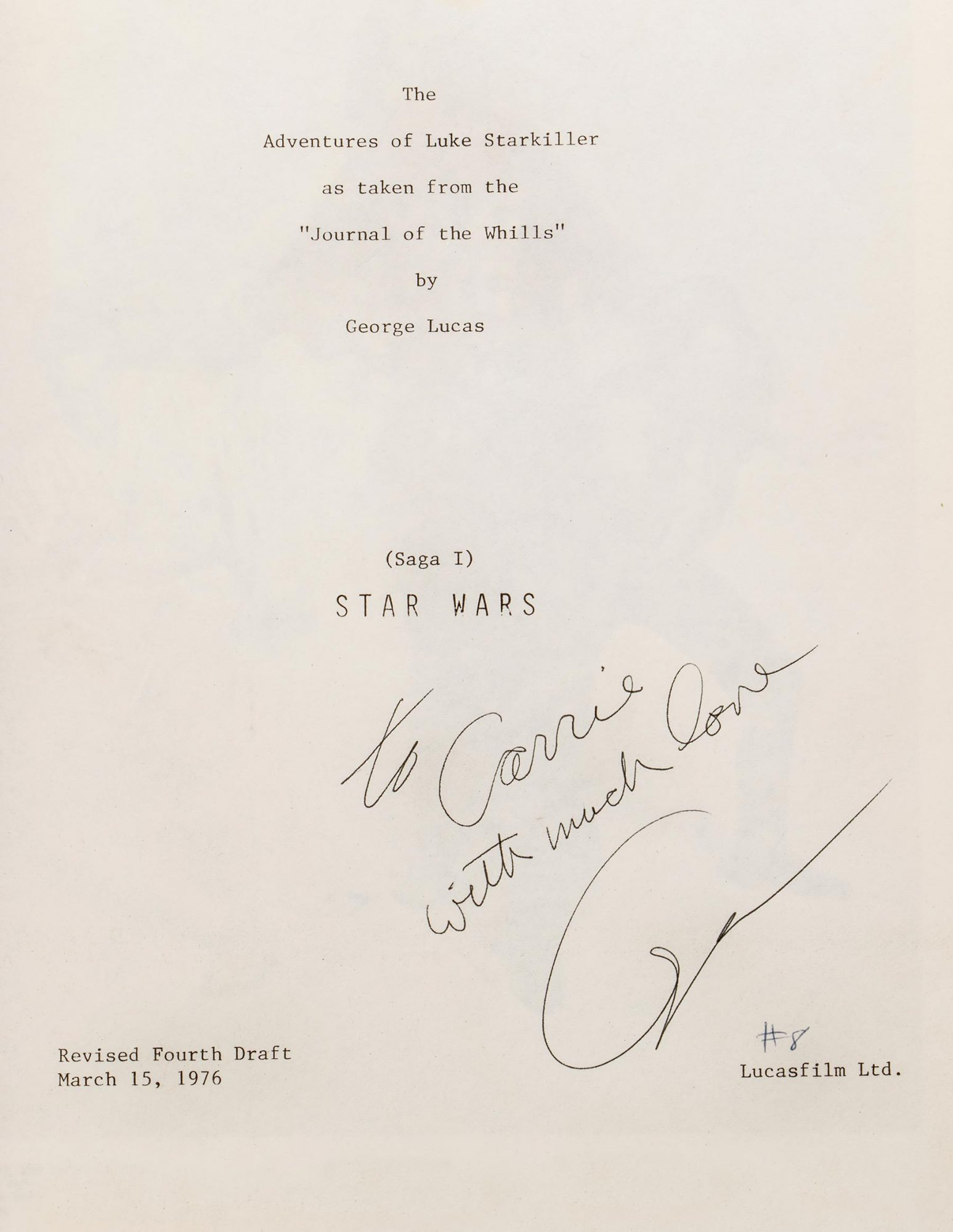 Carrie Fisher and Debbie Reynolds Auction Items CR: Profiles in History