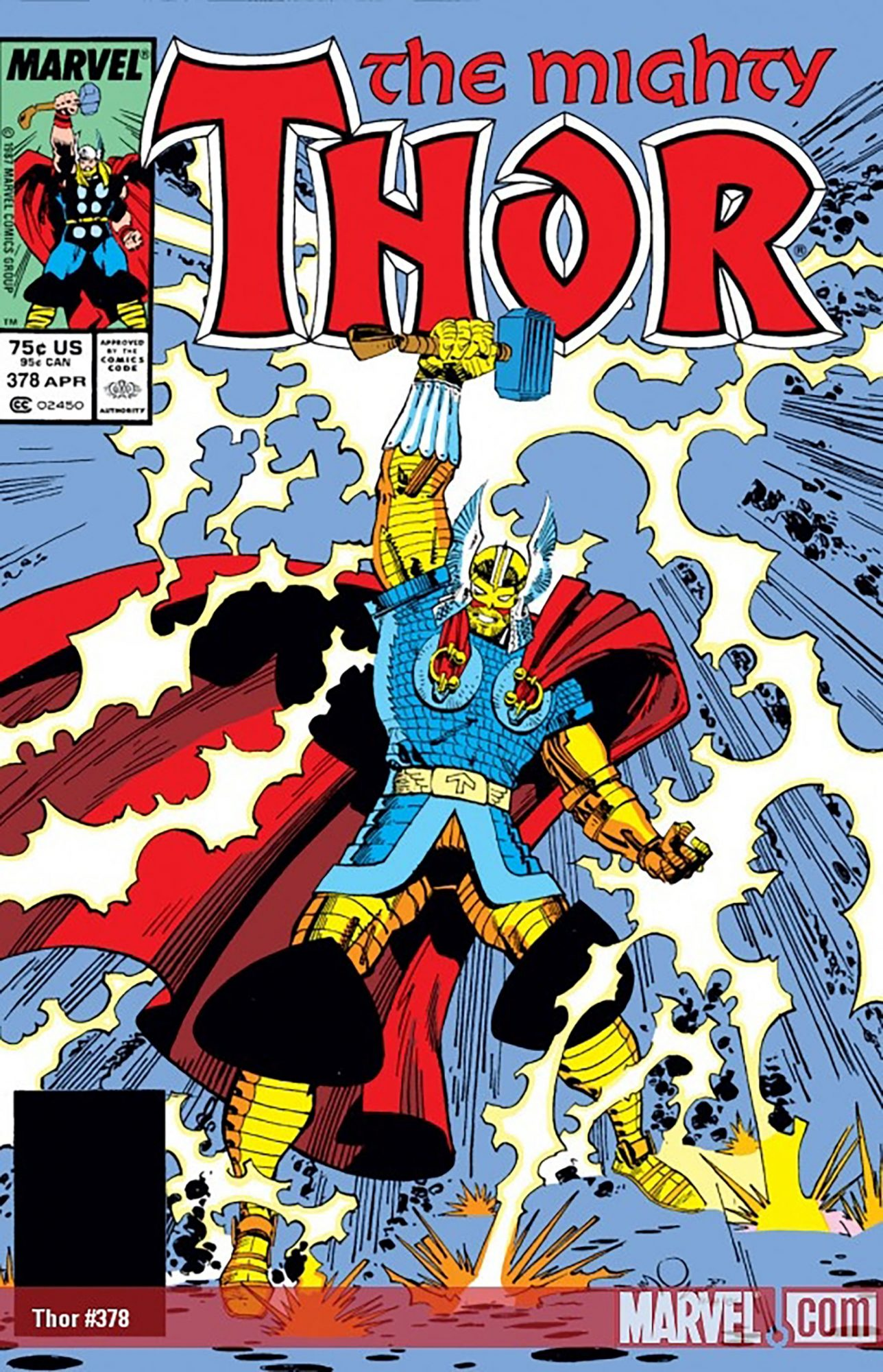 Battle Armor Thor — Thor #378 (1987)