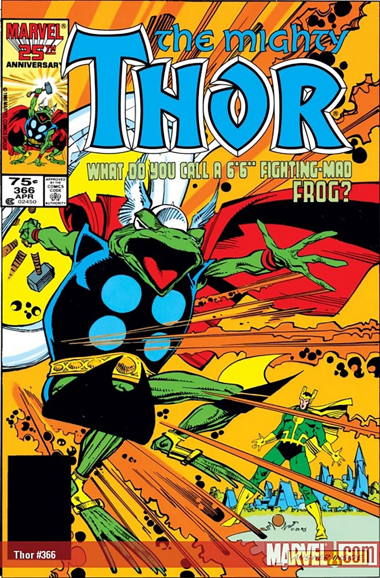 Frog Thor —Thor #366(1986)