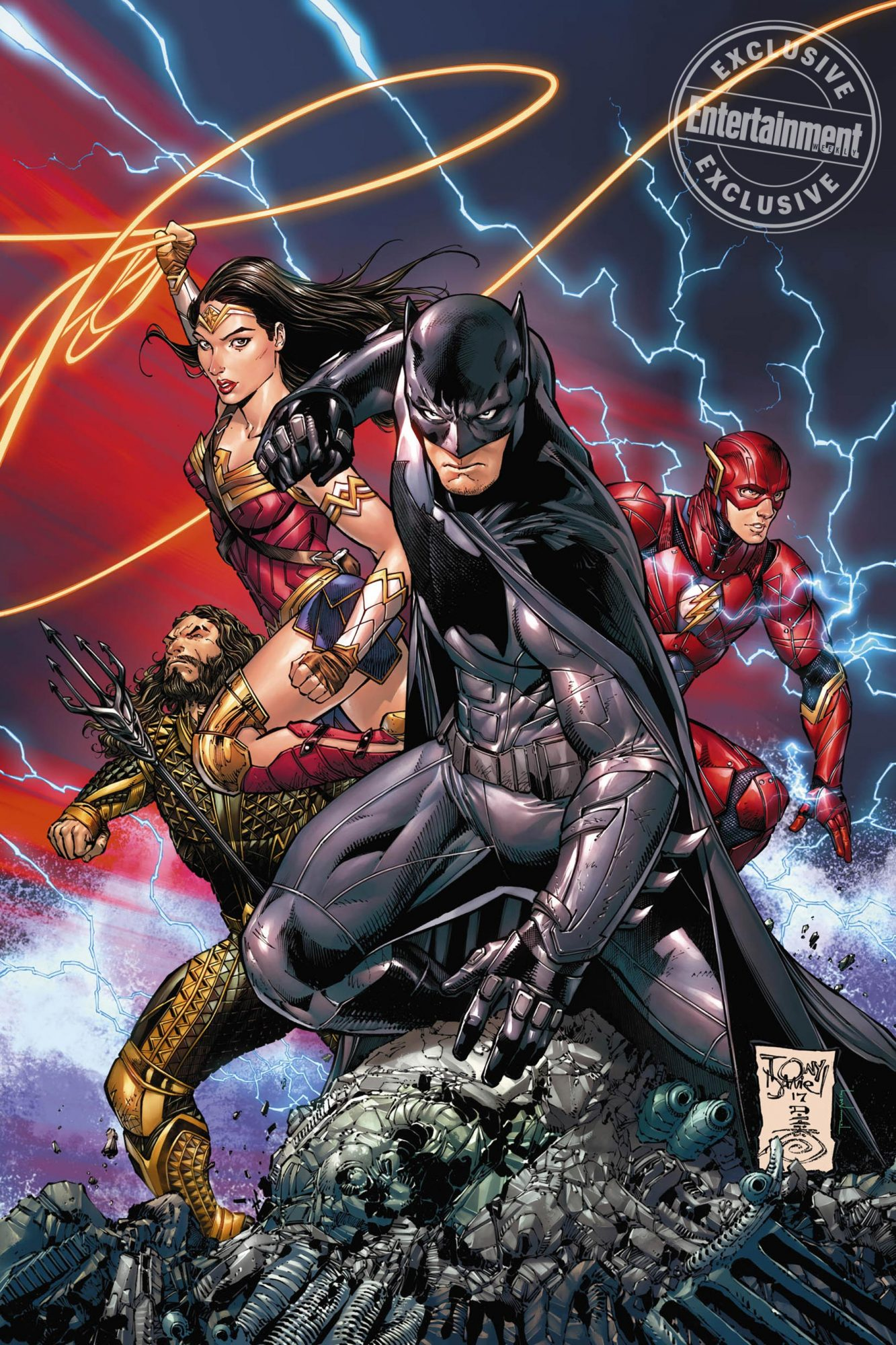Batman#34 Justice League takes over DC comics CR: DC Comics