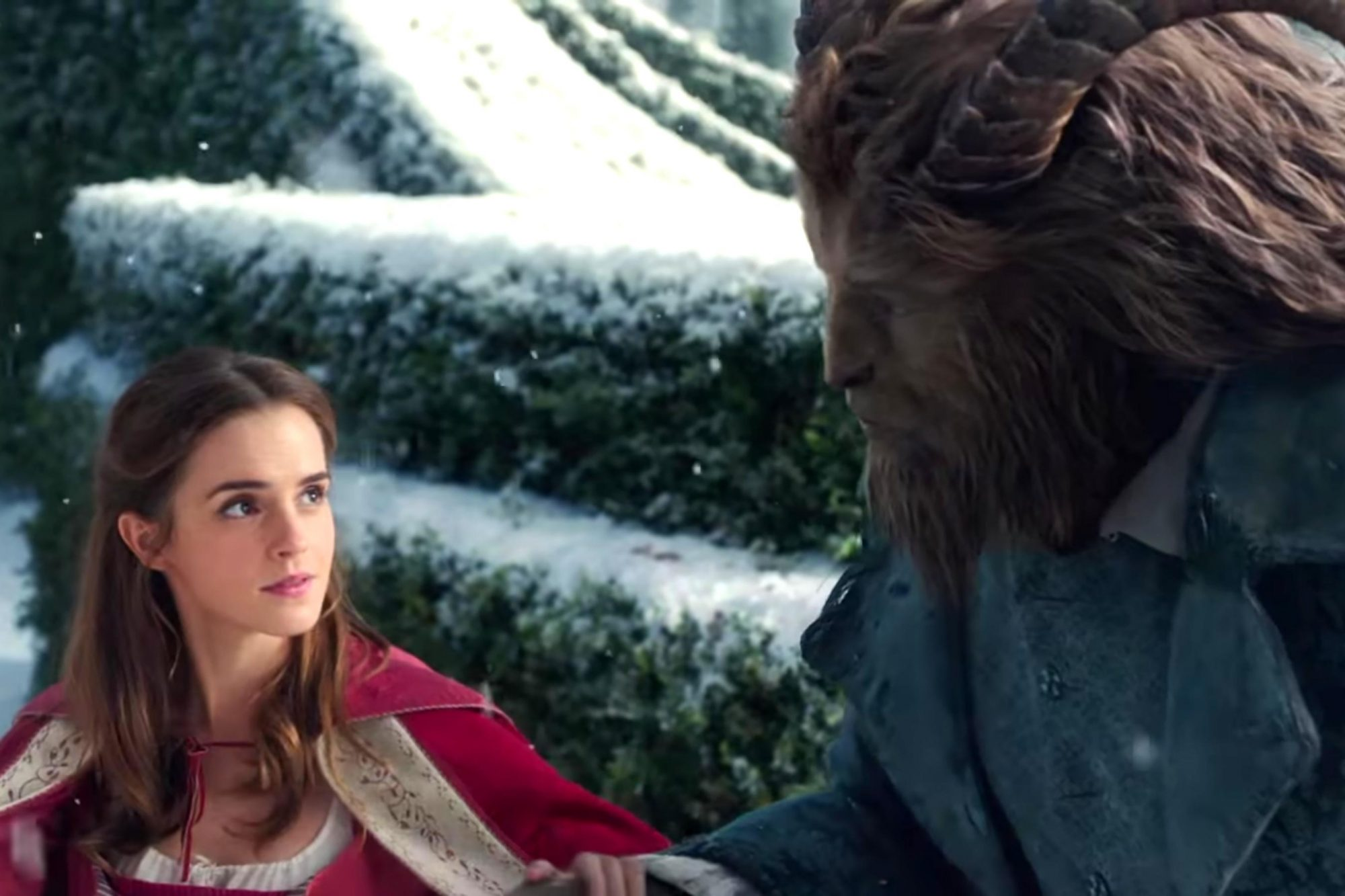 Beauty and the Beast US Official Trailer (screen grab) CR: Disney