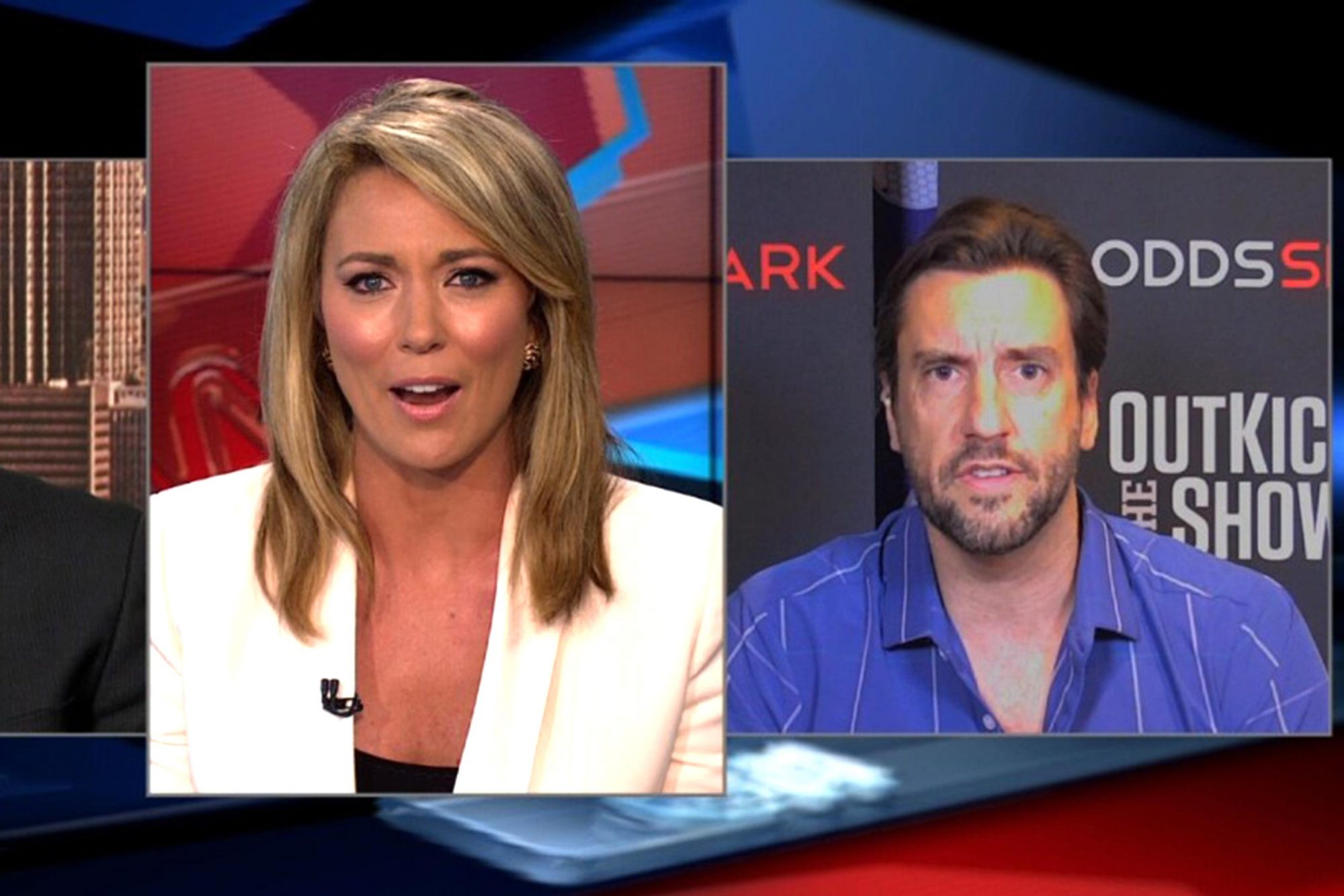 Brooke Baldwin, Clay Travis on CNN (screen grab) CR: CNN