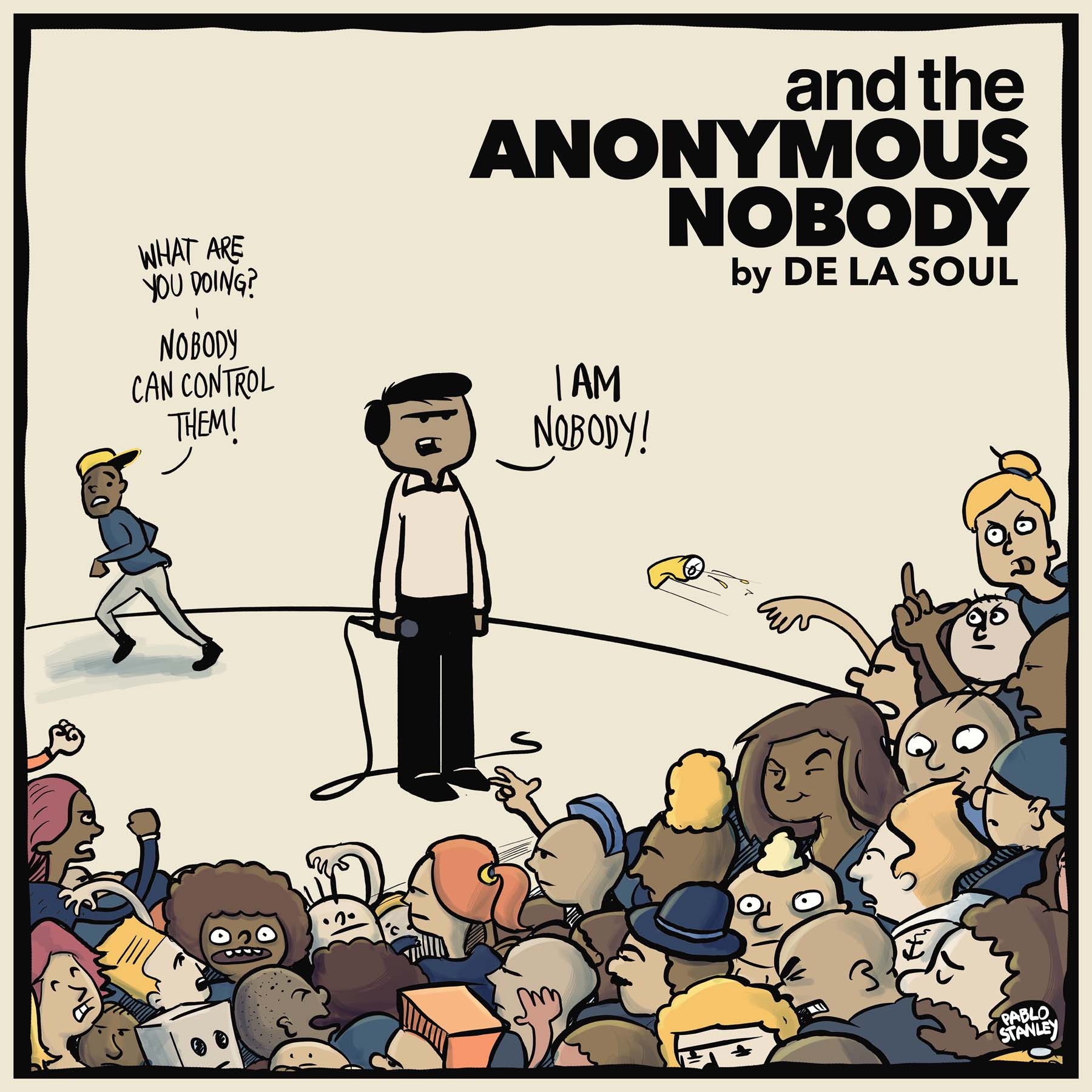 And the Anonymous NobodyDe La Soul  Format: Audio CDLabel: A.O.I. Llc