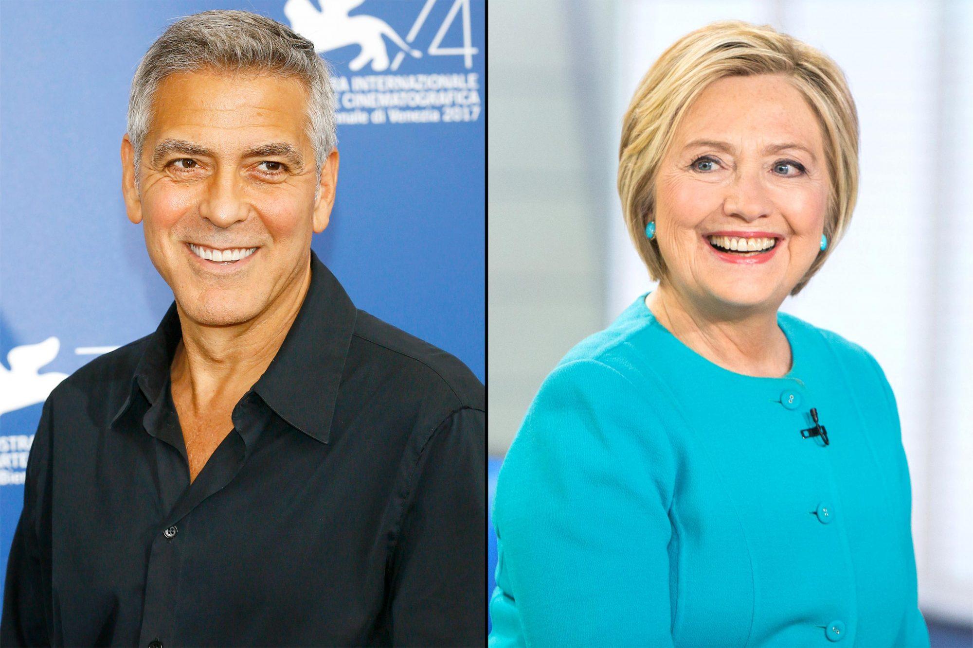 Clooney-Hillary