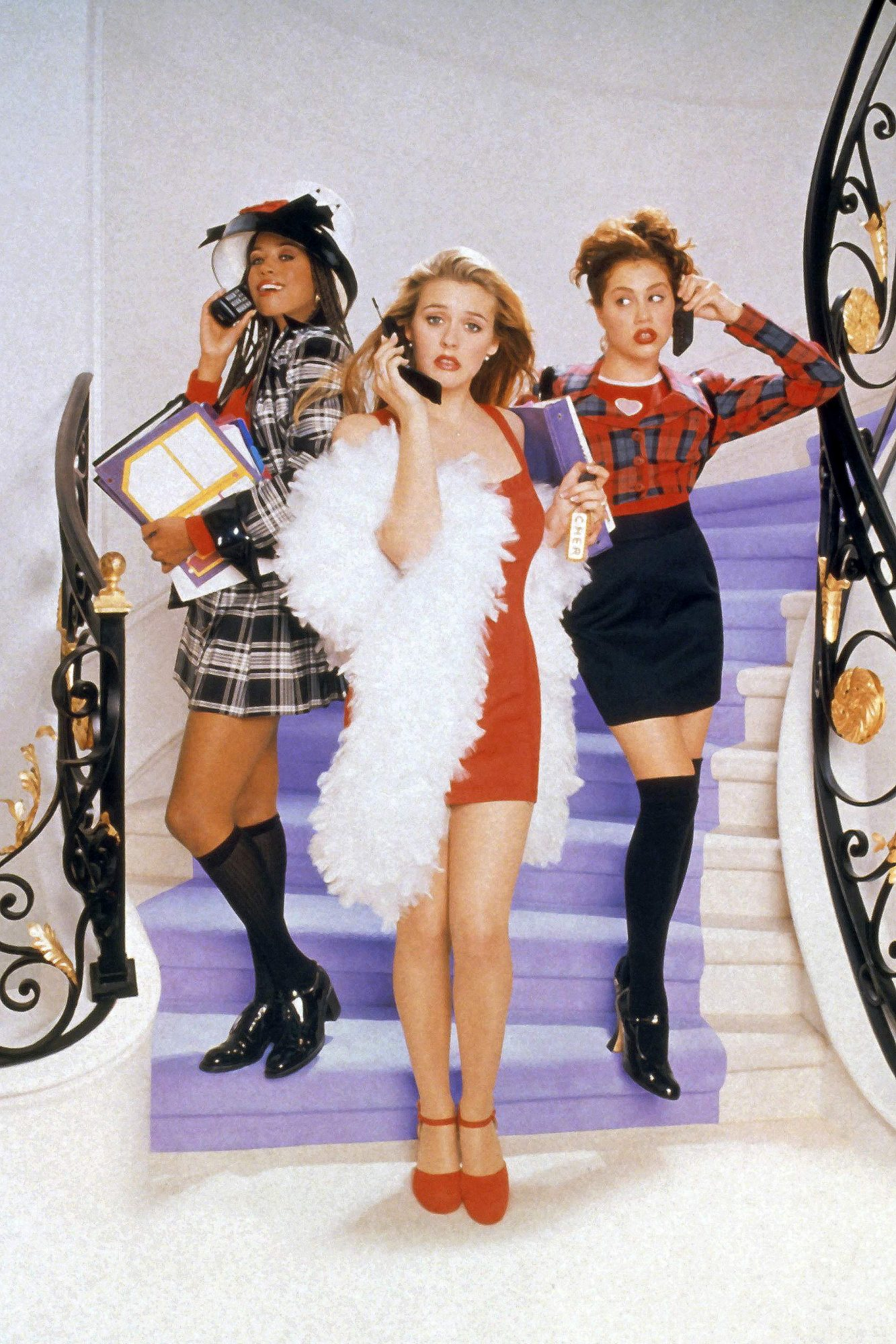 CLUELESS, Stacey Dash, Alicia Silverstone, Brittany Murphy, 1995, (c) Paramount/courtesy Everett Col