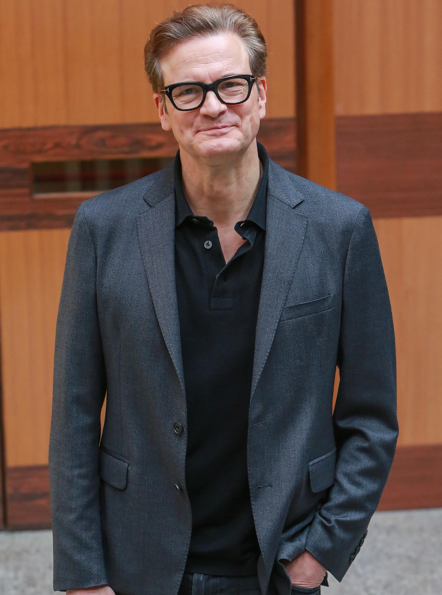 Colin Firth at 'Sapienza University of Rome'