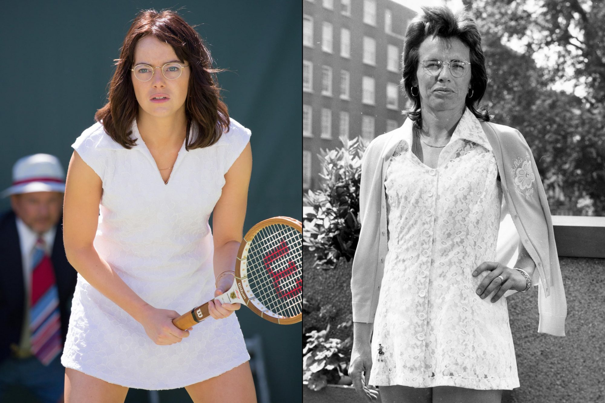 Emma Stone as Billie Jean King (Battle of the Sexes)