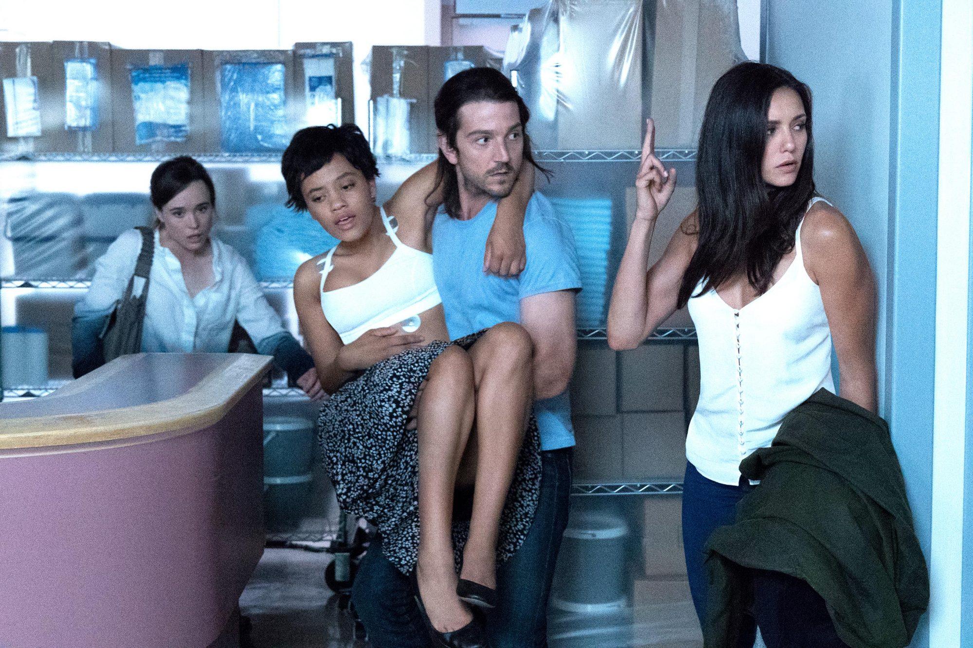 Ellen Page;Diego Luna;Nina Dobrev;Kiersey Clemons