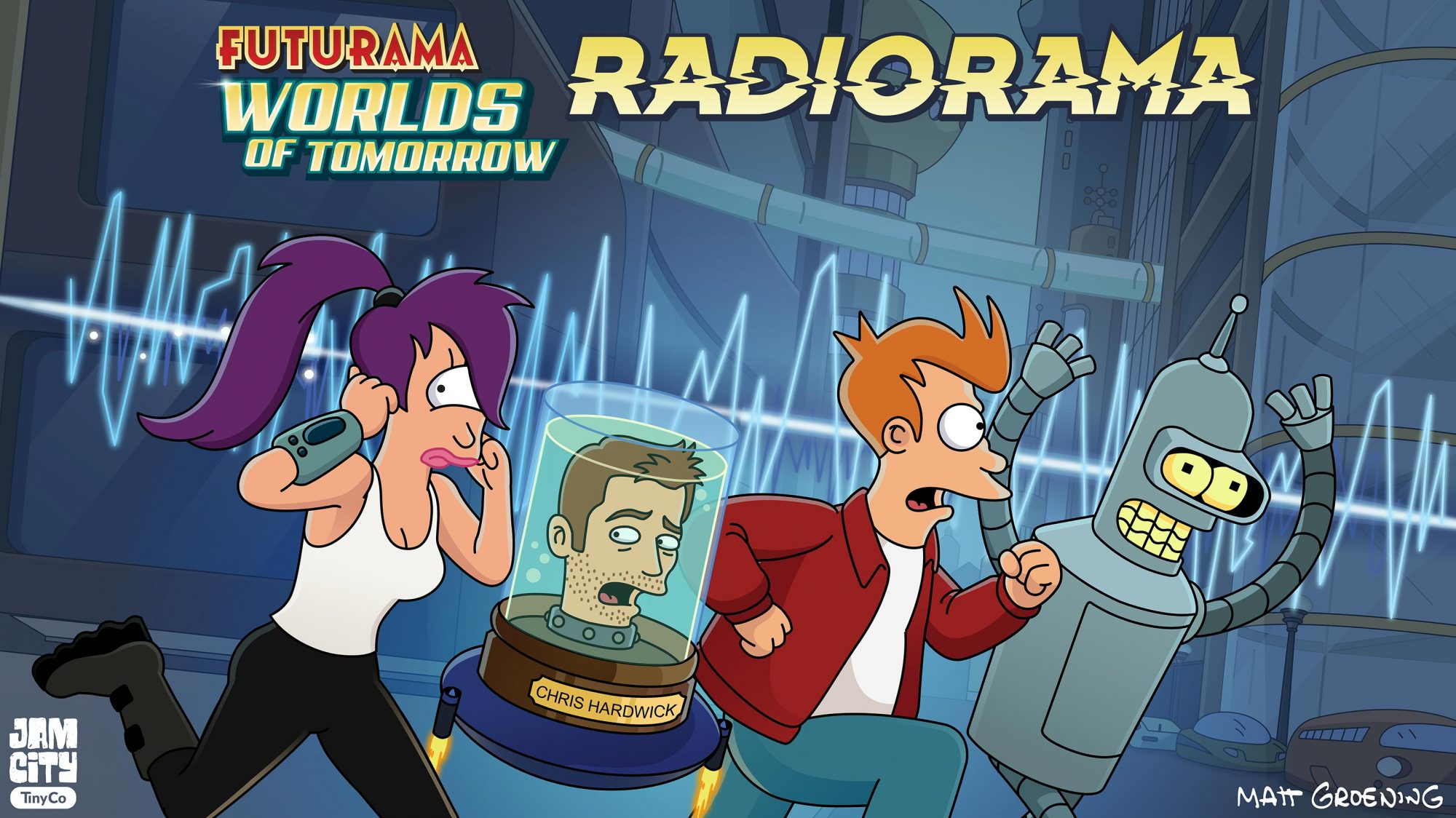 FUTURAMA Key Art CR: Fox