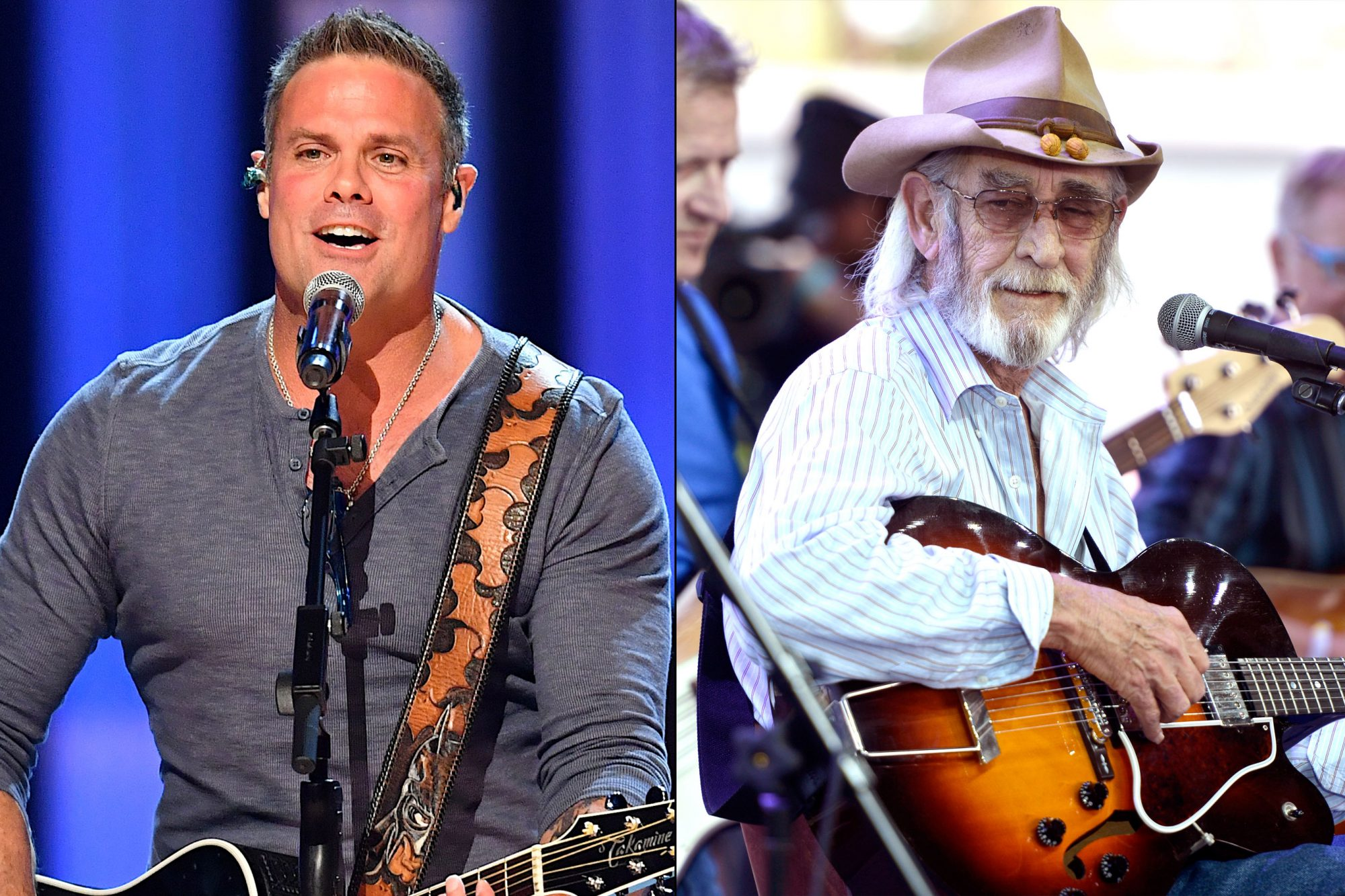 Troy Gentry and Don Williams