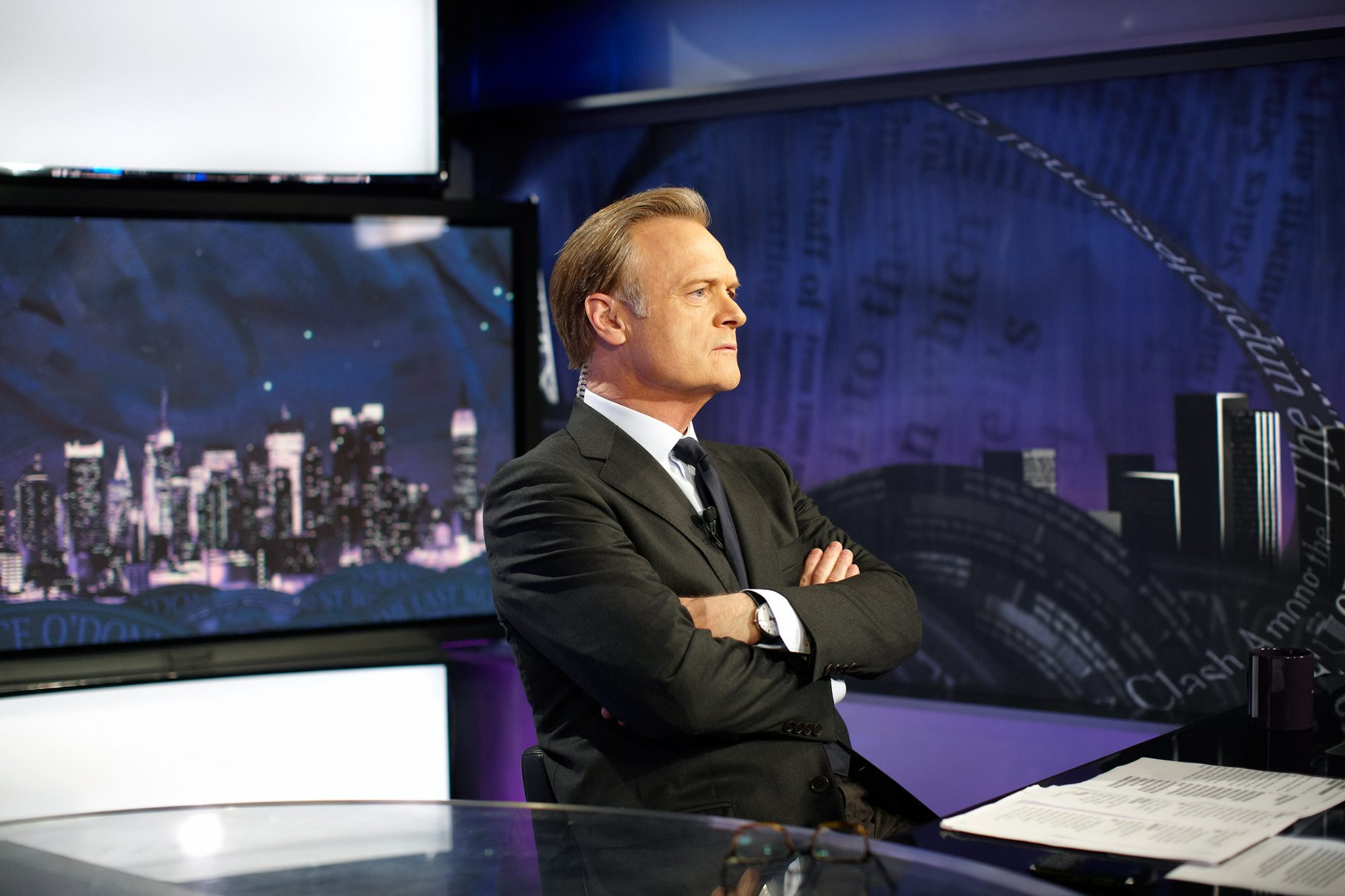 New York, NY - May 19th 2011: Lawrence O'Donnell, host of MSNBCs