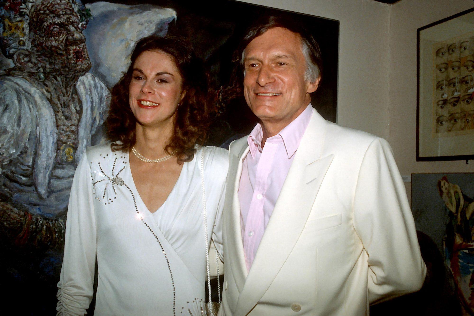 Hefners At Playboy Club