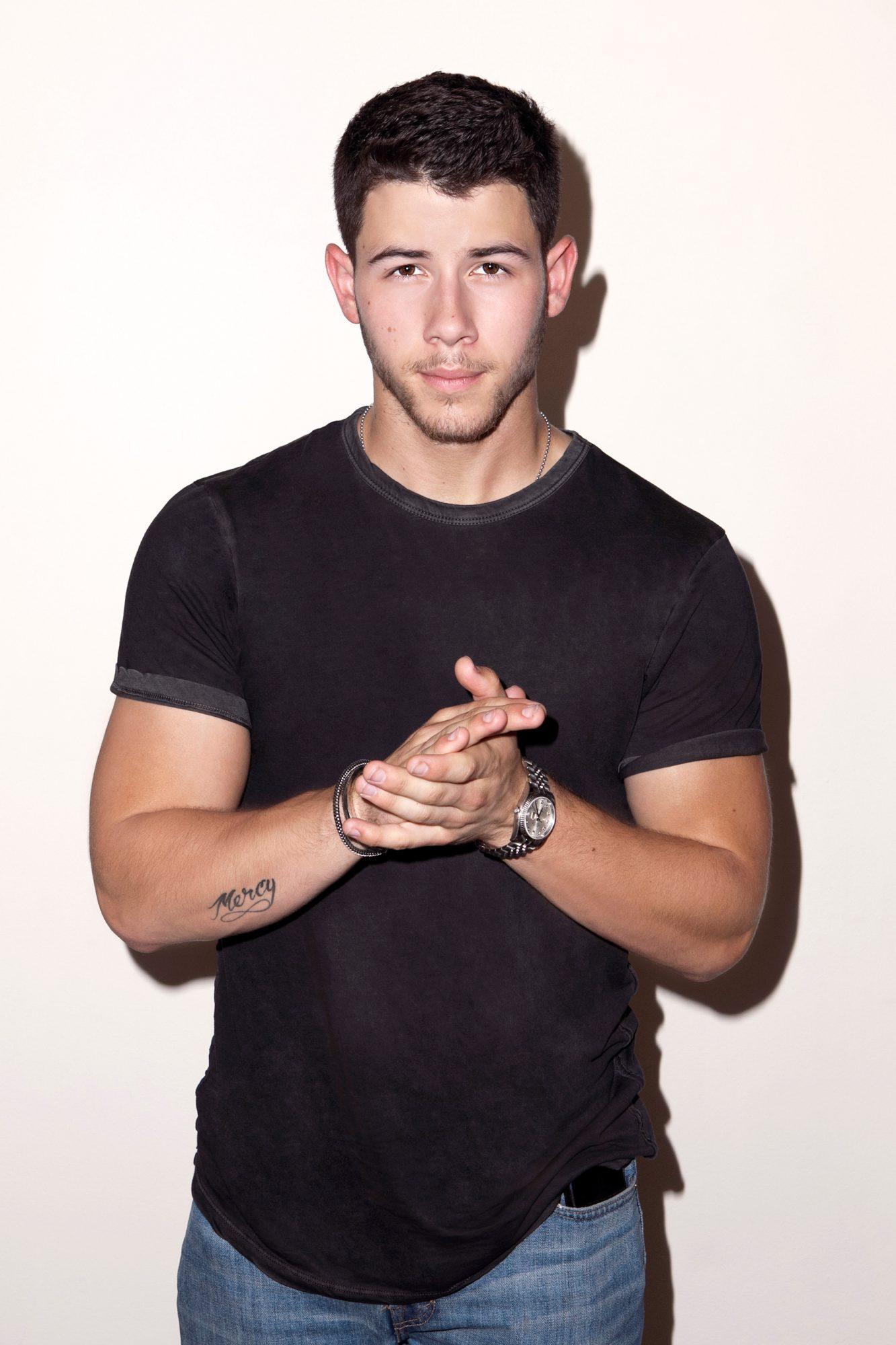 Nick Jonas, Portrait Session, August 22, 2014