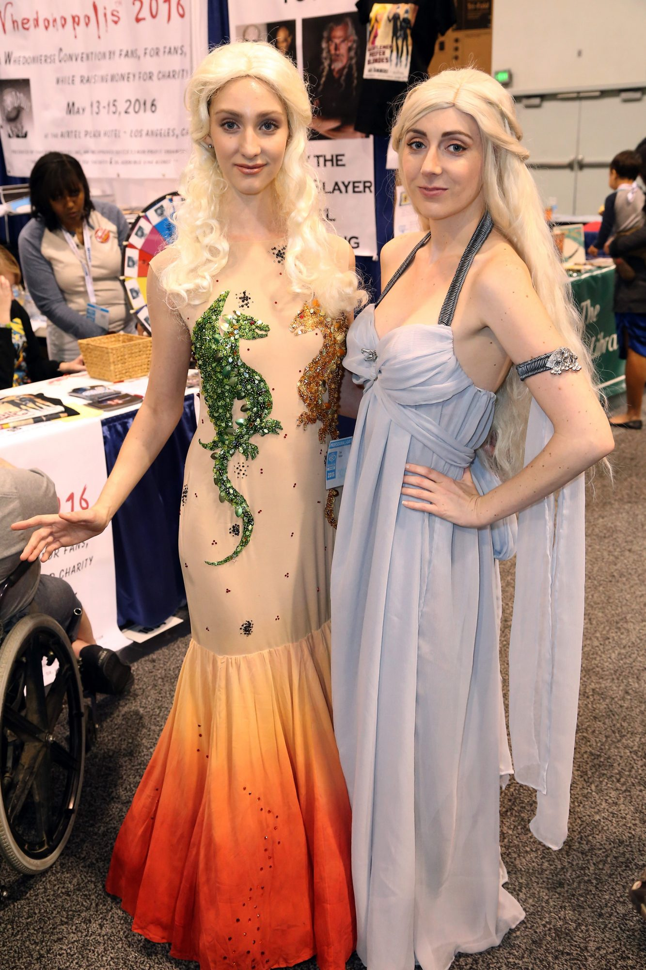 Daenerys Targaryen Cosplayers at WonderCon 2015