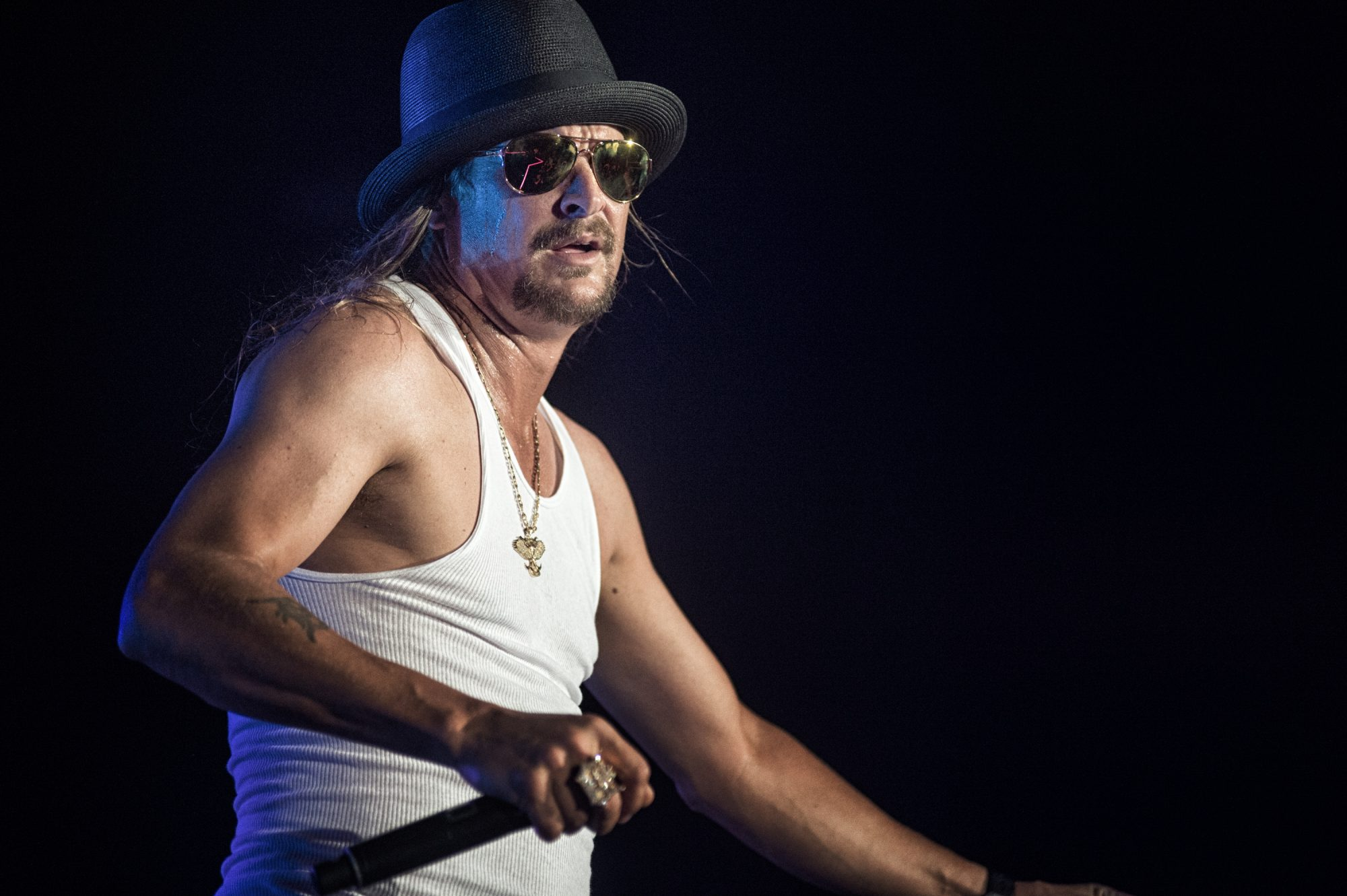 Kid Rock Performs At The Gexa Energy Pavilion In Dallas TX